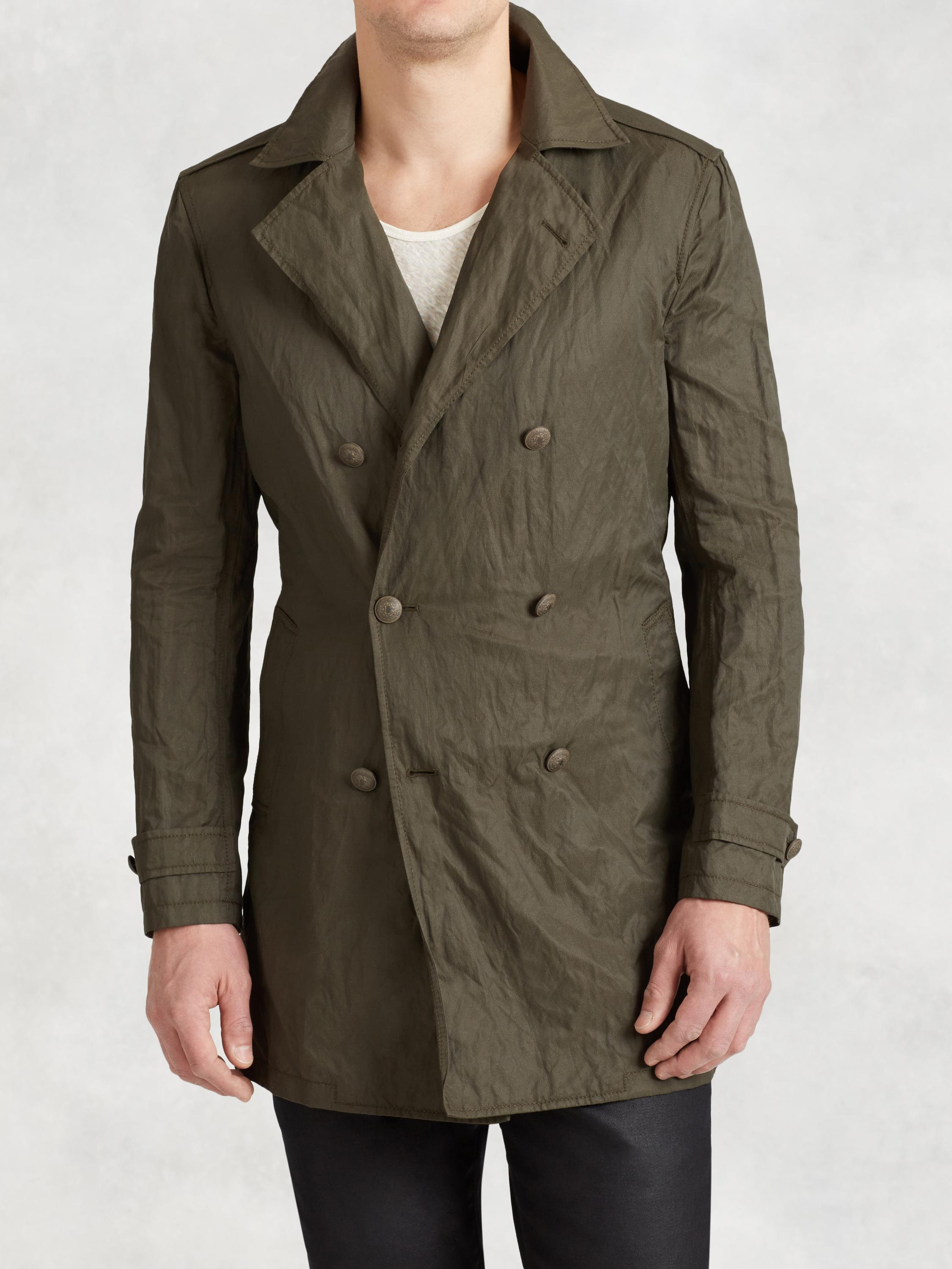 Cotton Modern Trench
