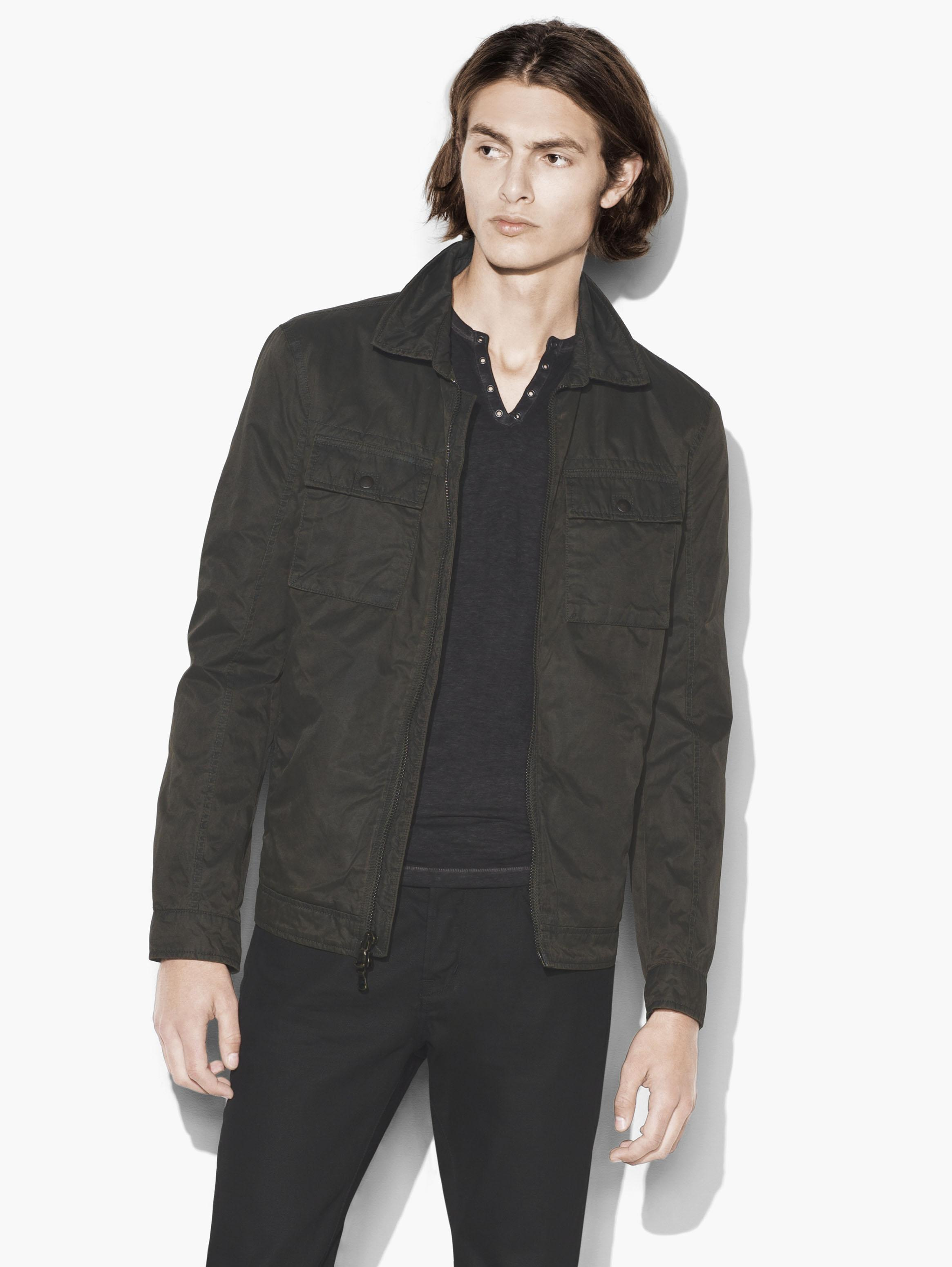 Patch Pocket Military Jacket