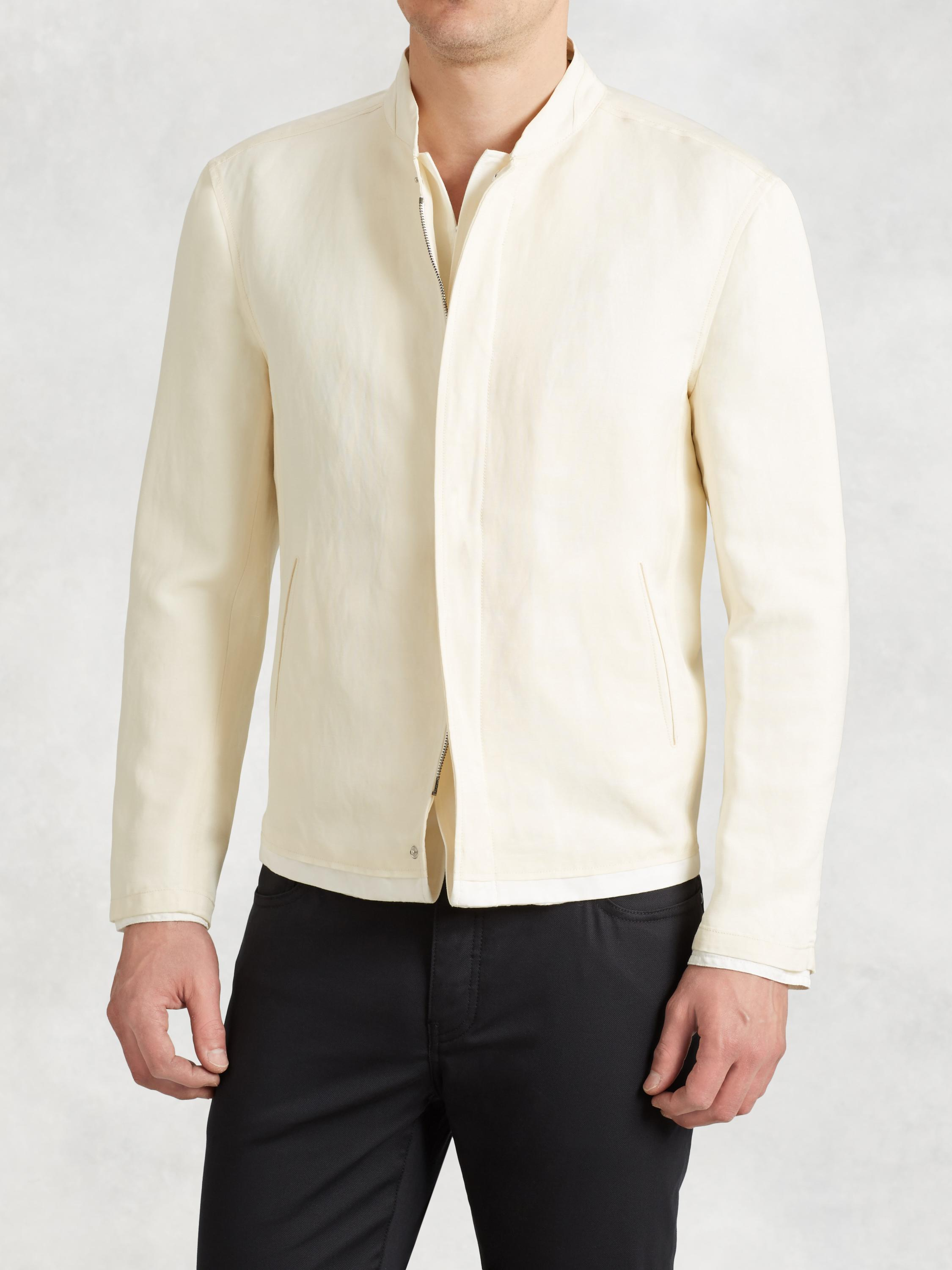 Double Layered Linen Jacket