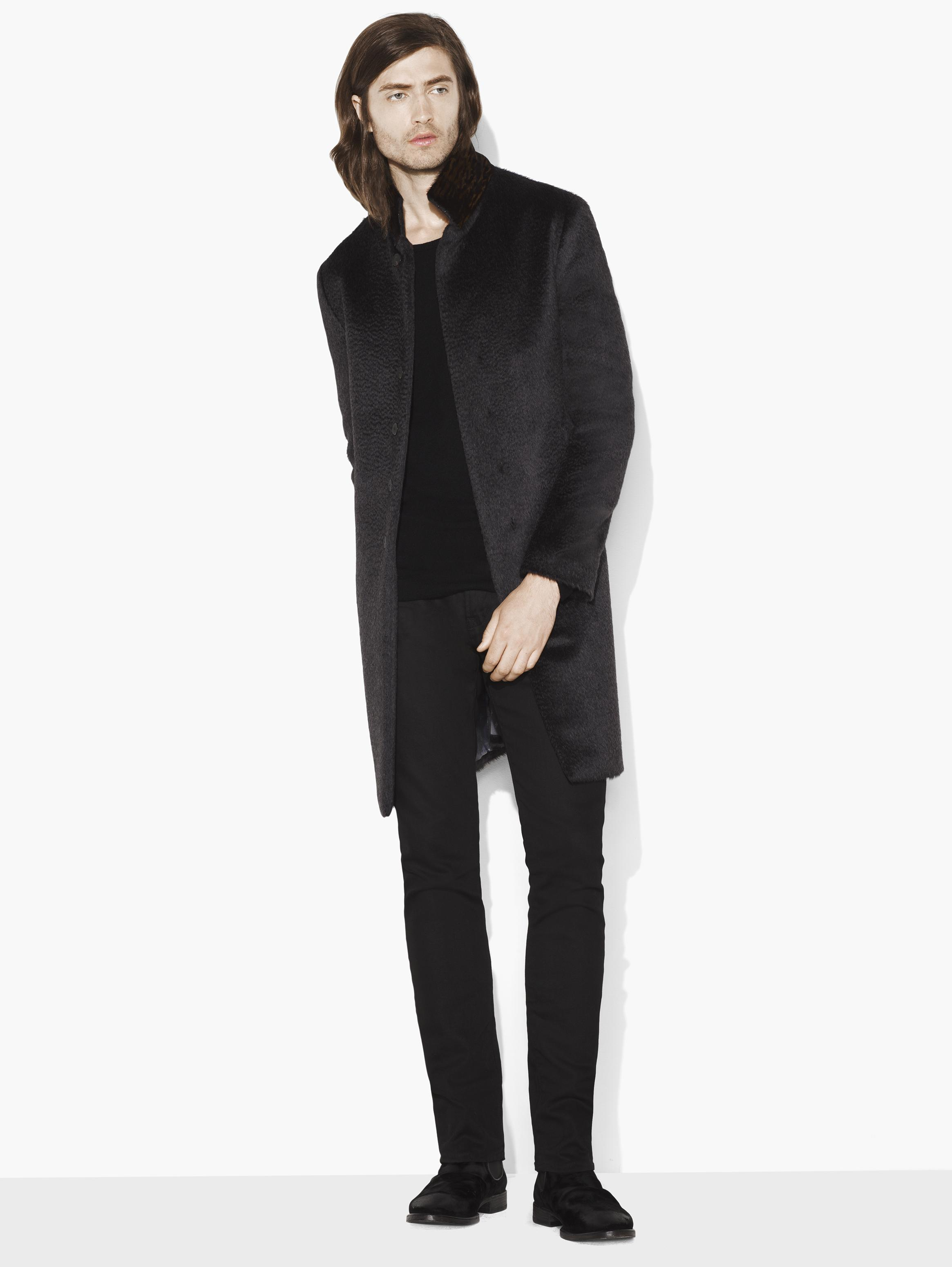 Wool & Alpaca Slim Fit Coat