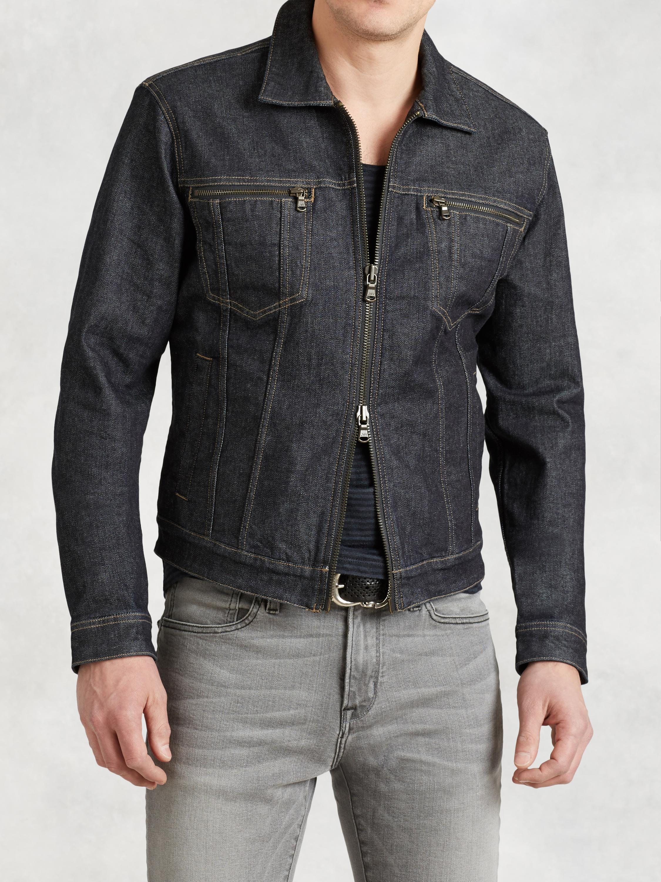 Denim Zip Jacket