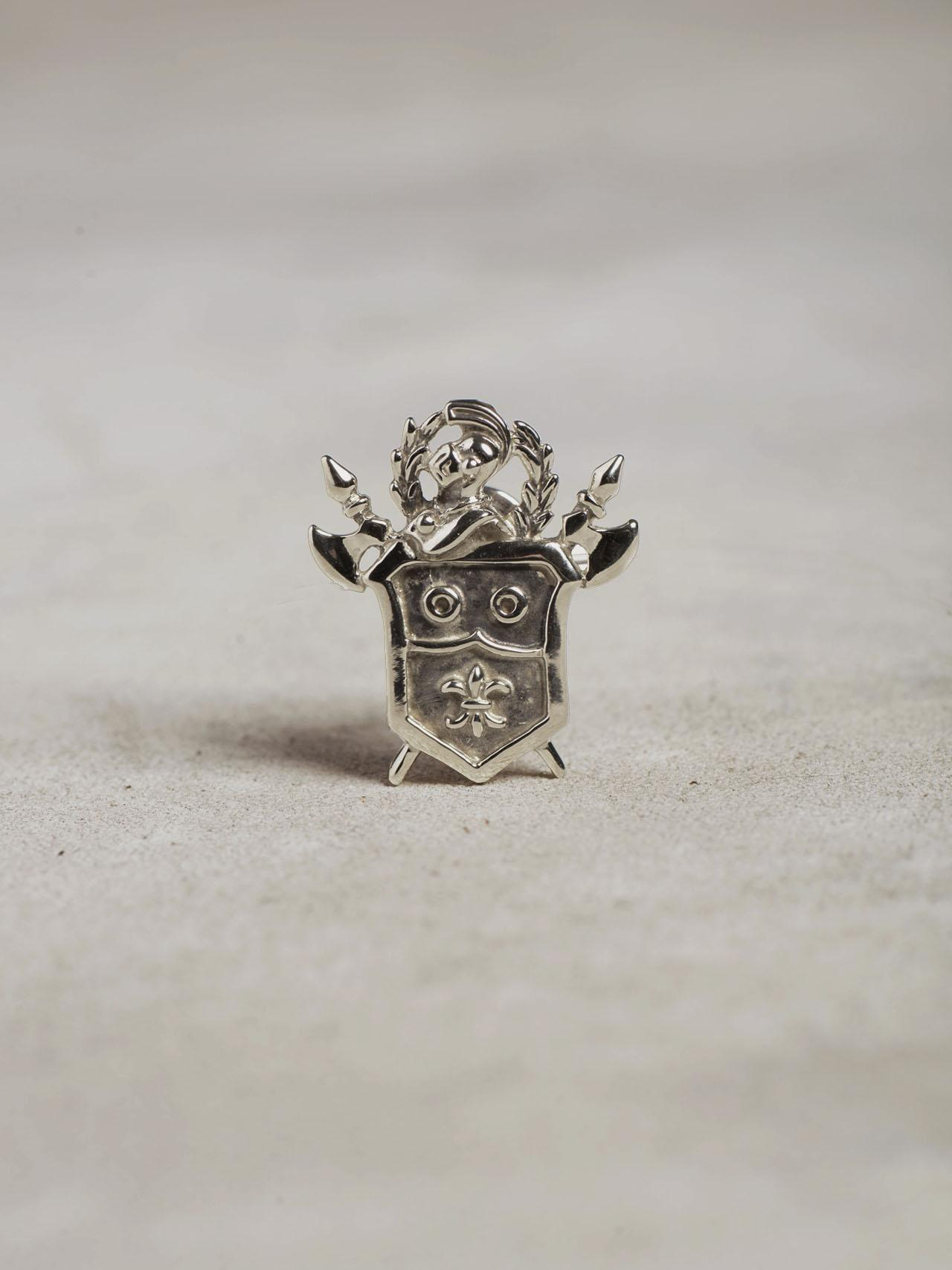 Silver Knight Lapel Pin