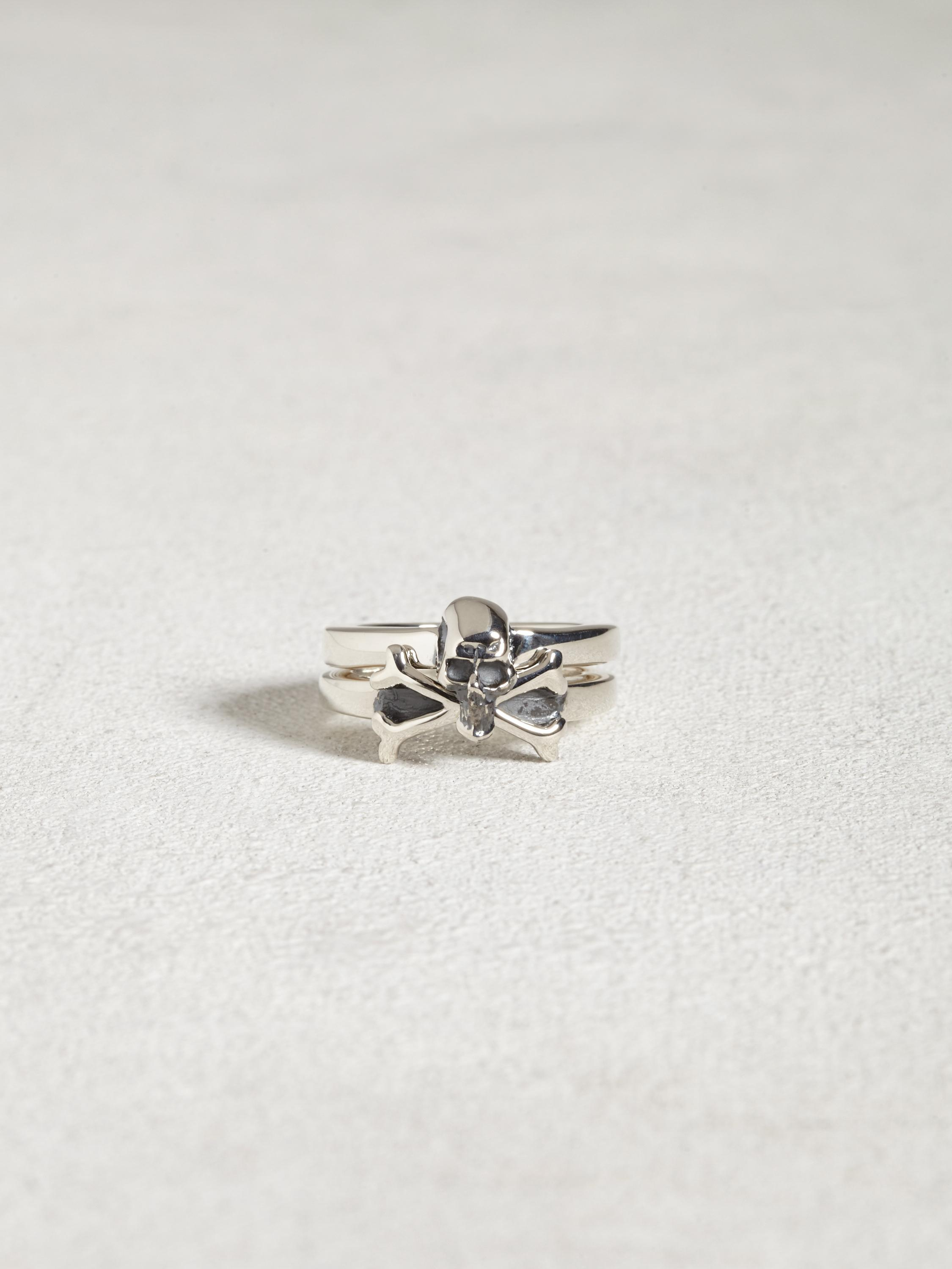 Stackable Skull & Crossbone Ring