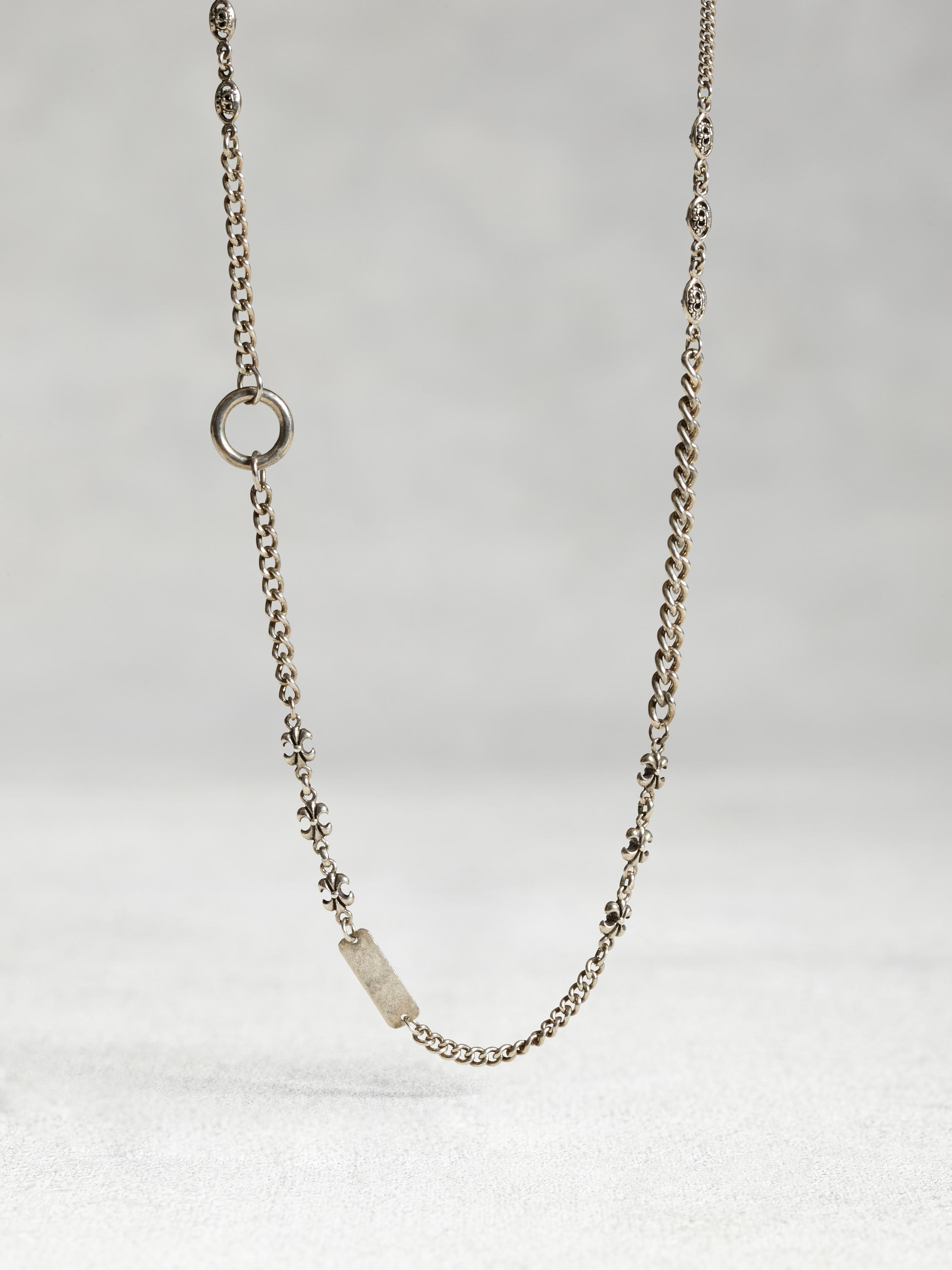 Sterling Silver Asymmetric Necklace