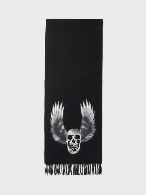 Winged Skull Scarf