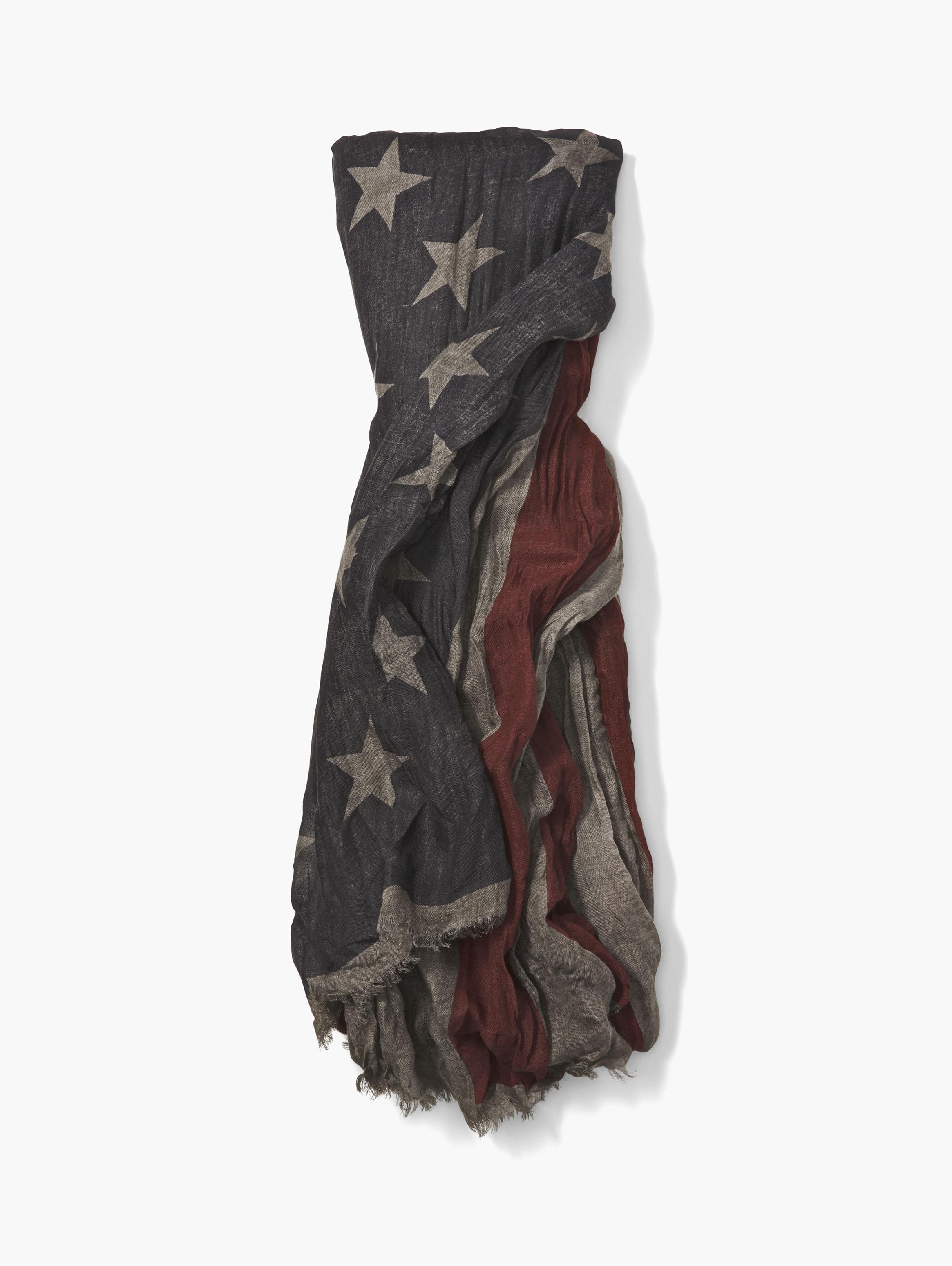 Antique Stars And Bars Scarf
