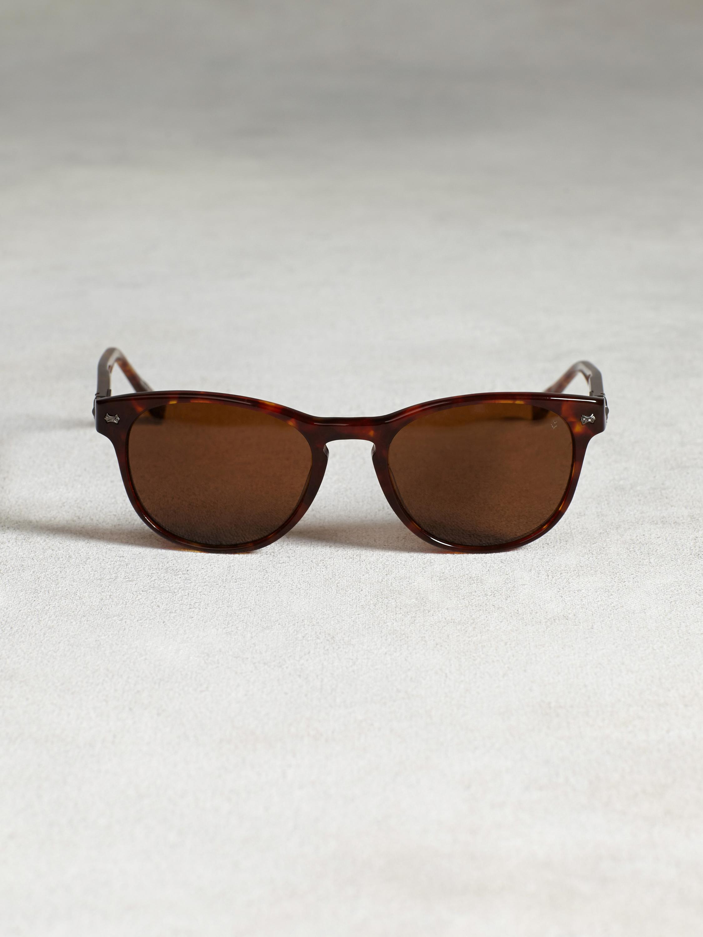 Retro Sunglass With Guitar Head Detail