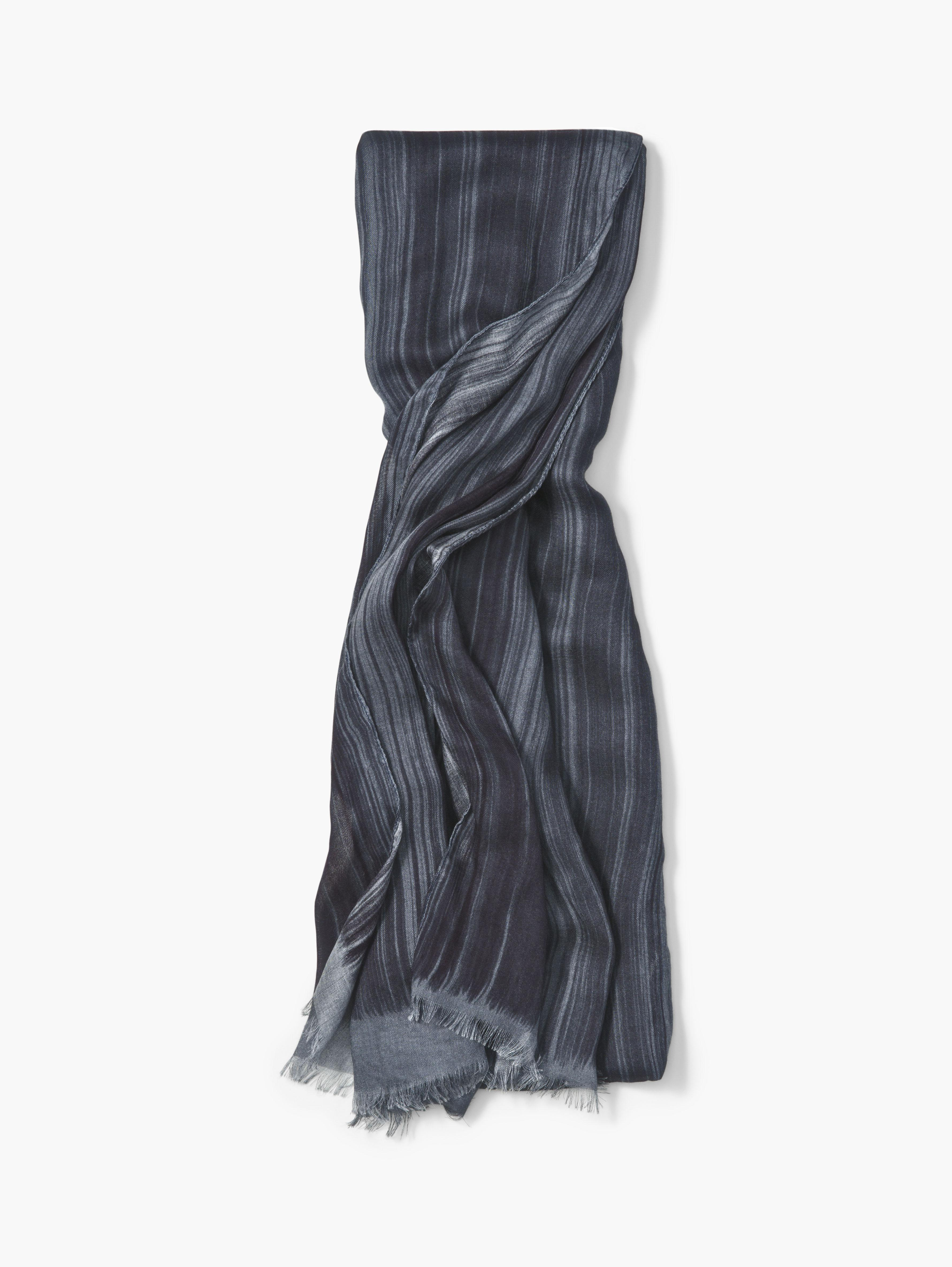 Vintage Striped Modal Scarf