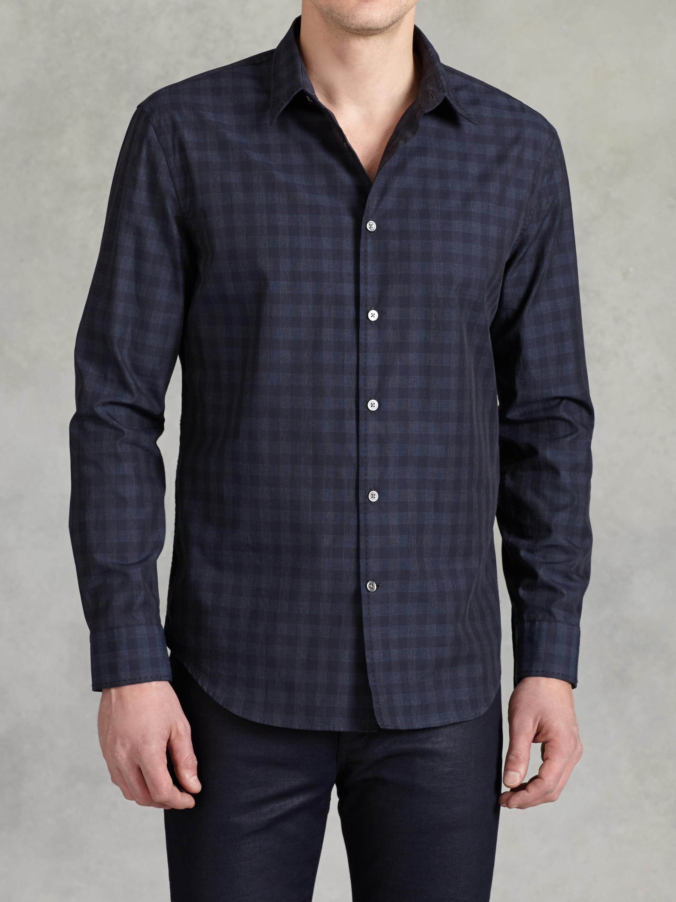 Cotton Classic Plaid Shirt