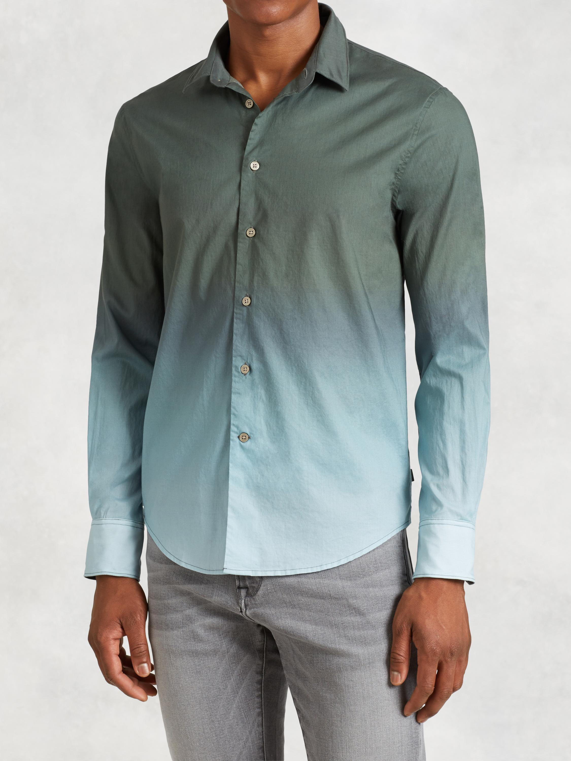 Cotton Degrade Shirt