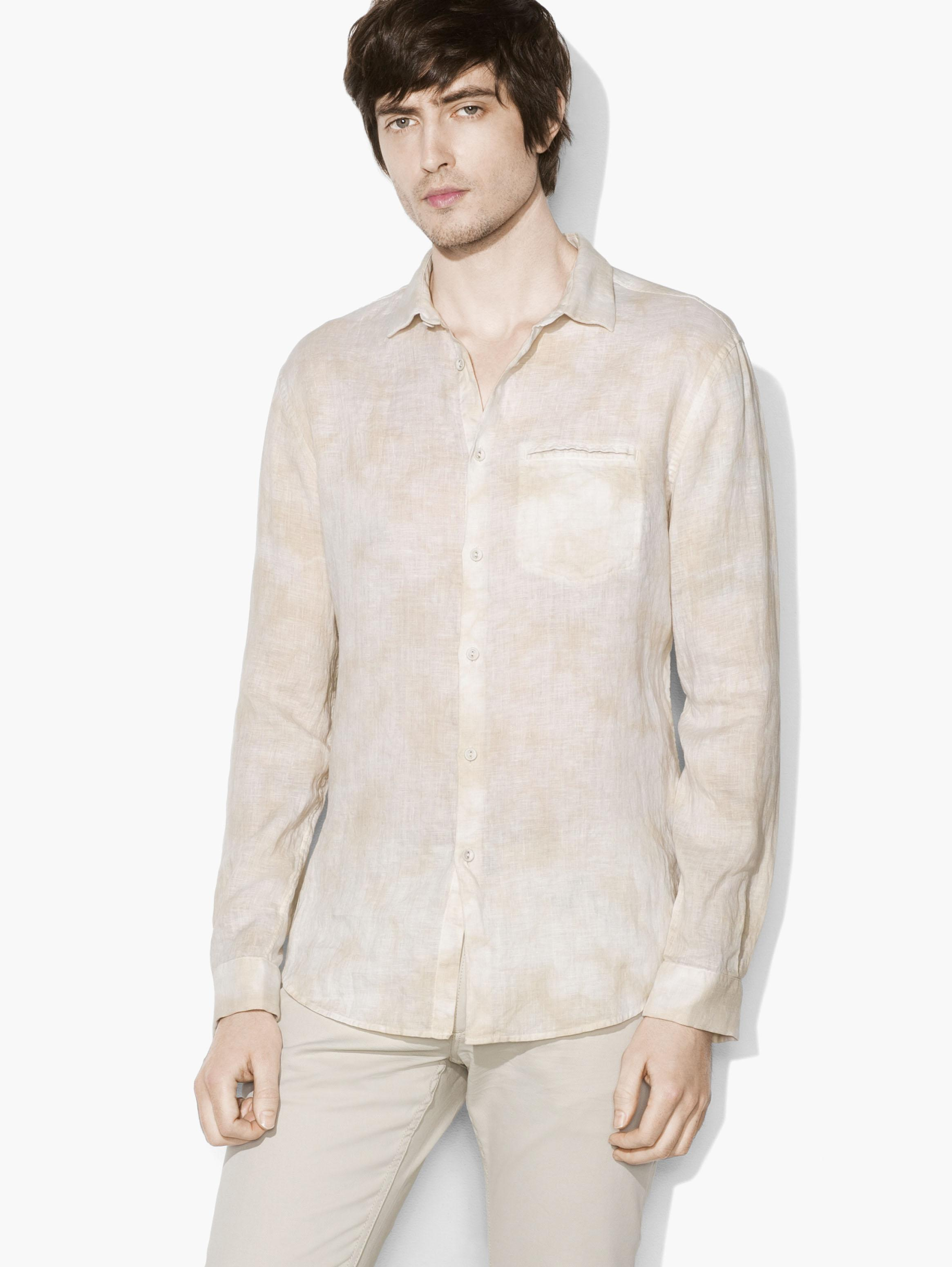 Allover Water Dye Shirt by John Varvatos