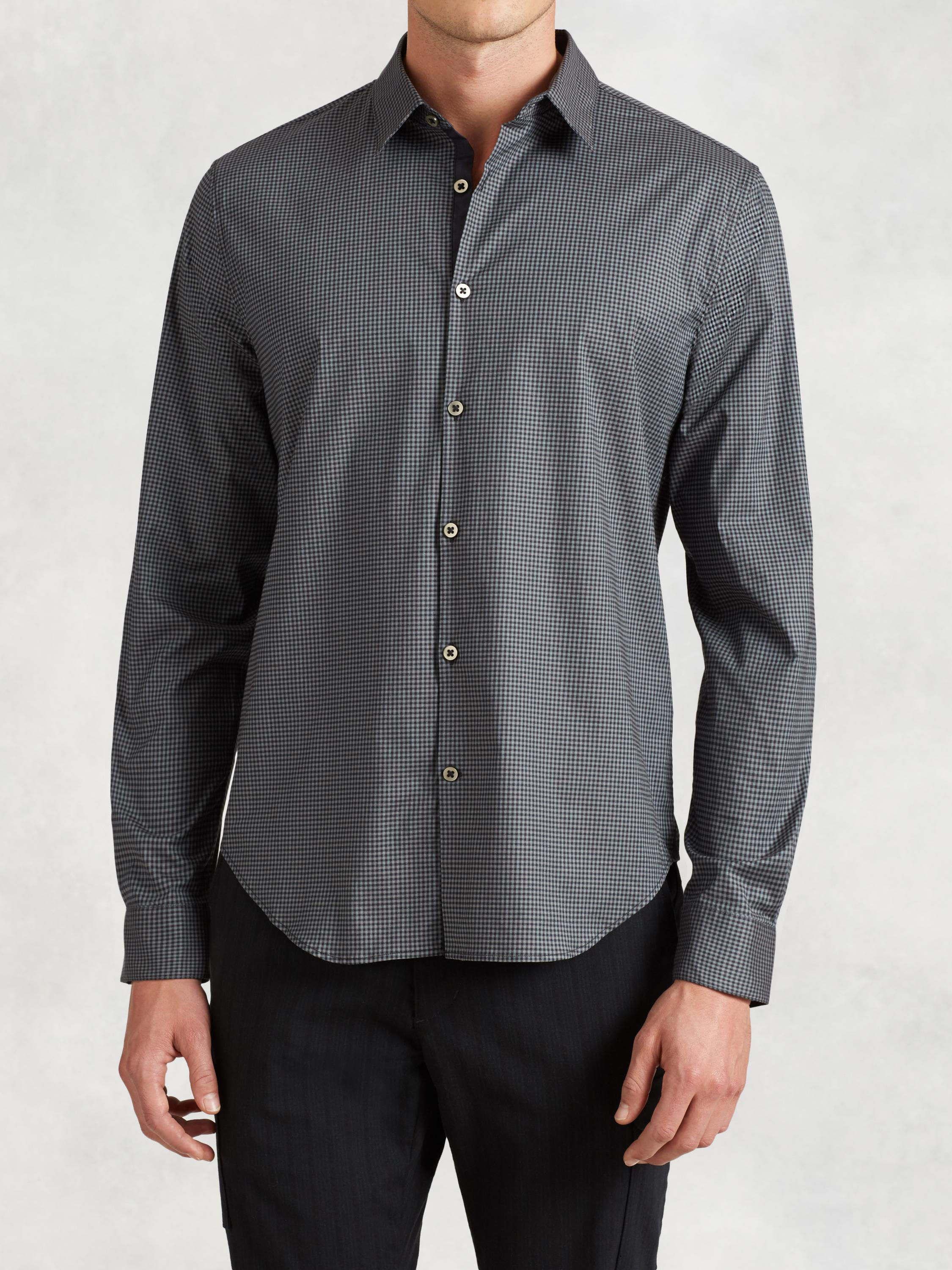 Cotton Contrast Shirt