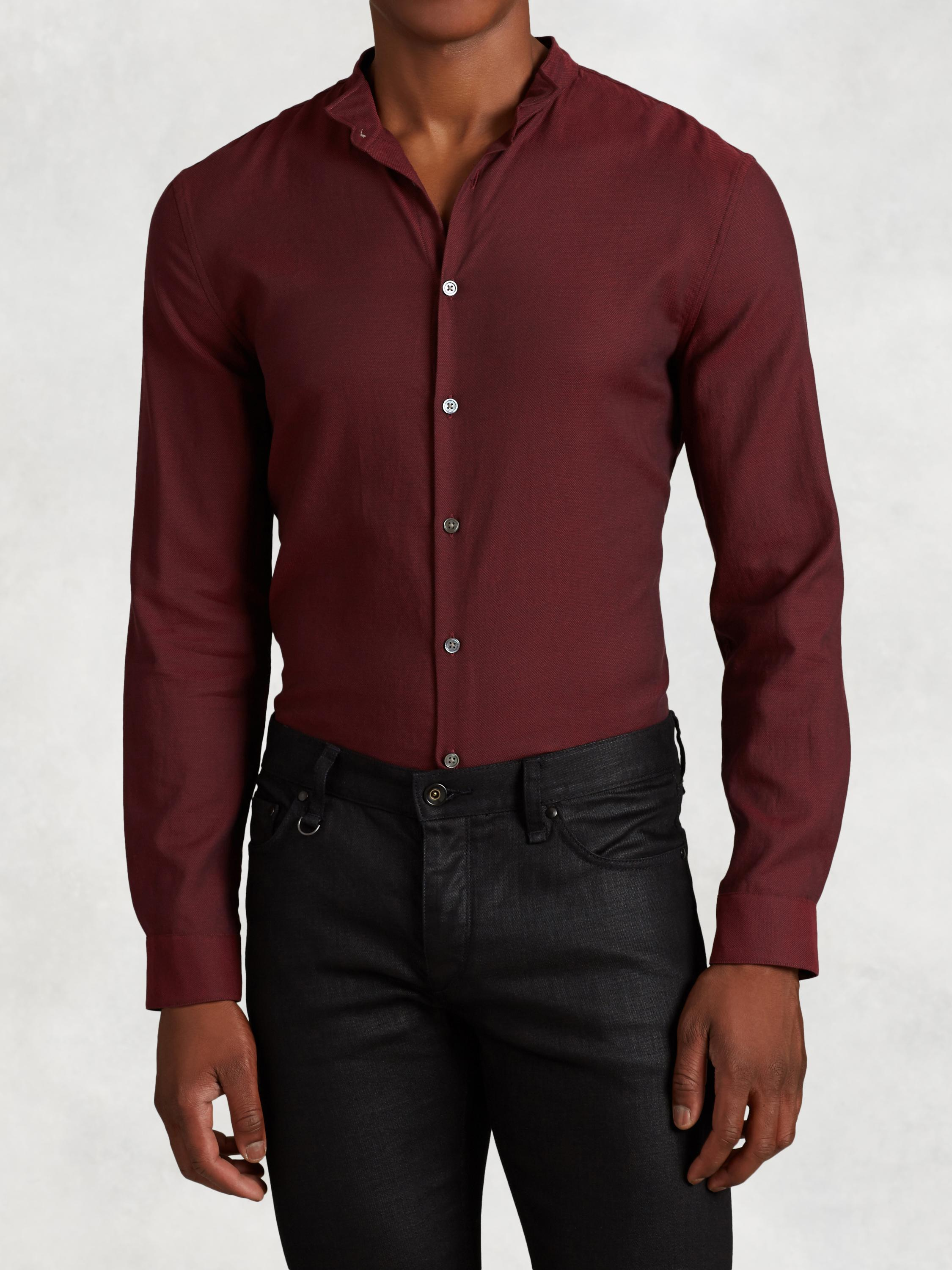 Wingtip Cotton Shirt
