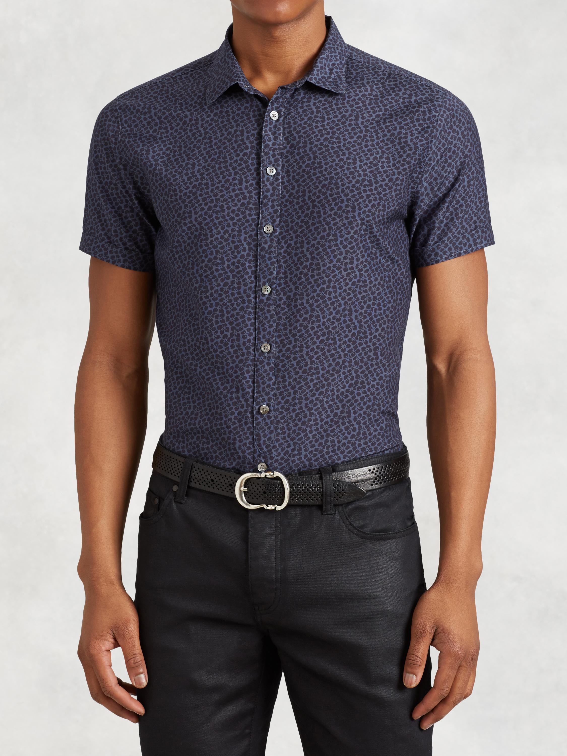 Coton Silk Short Sleeve Shirt