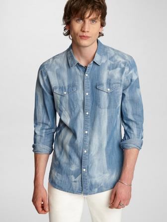 Marshall Western Denim Shirt