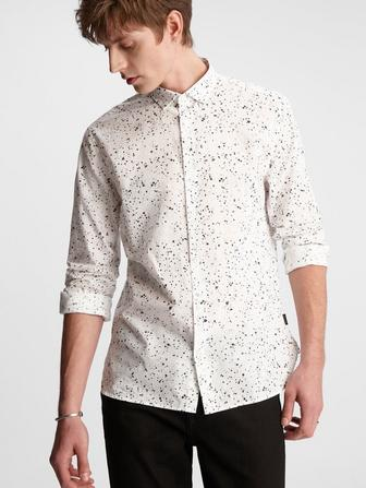 Ross Paint Splatter Shirt