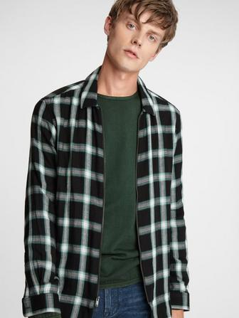 Gordon Zip Front Shirt