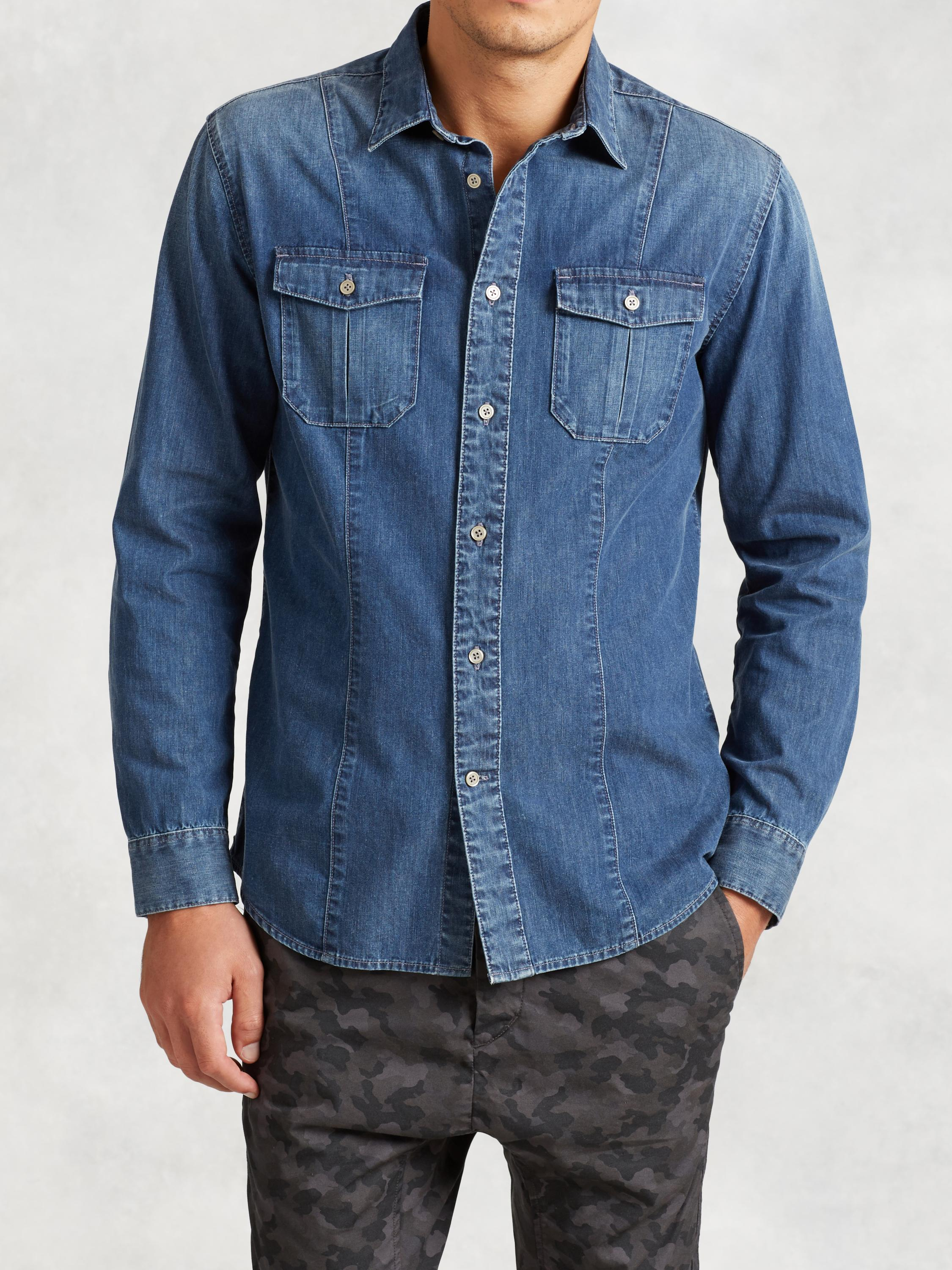 Cotton Indigo Shirt