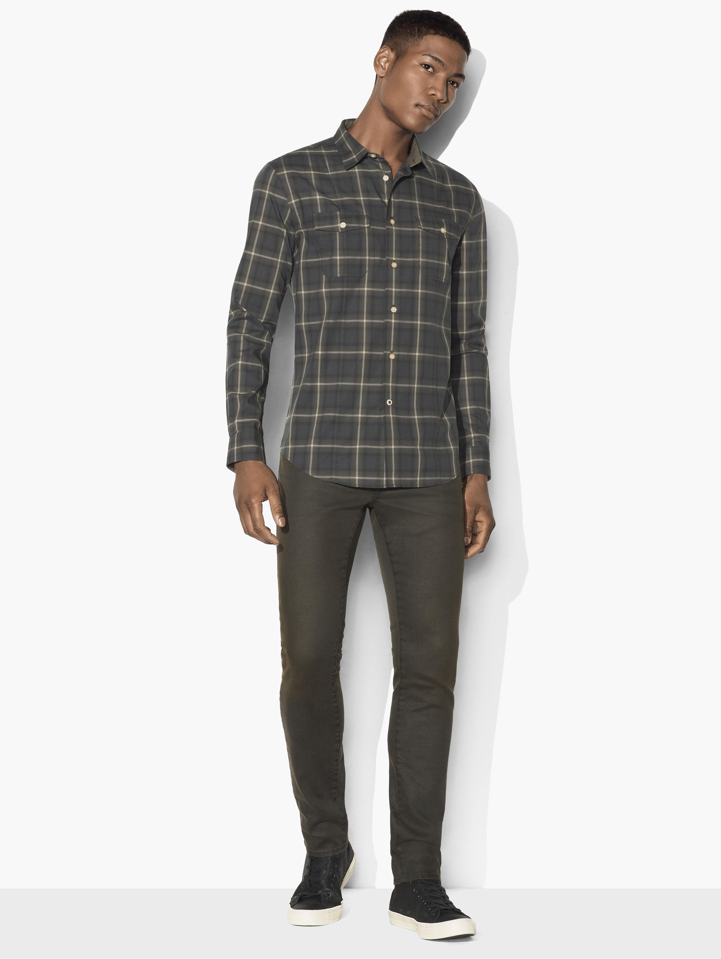 Plaid Mayfield Sport Shirt