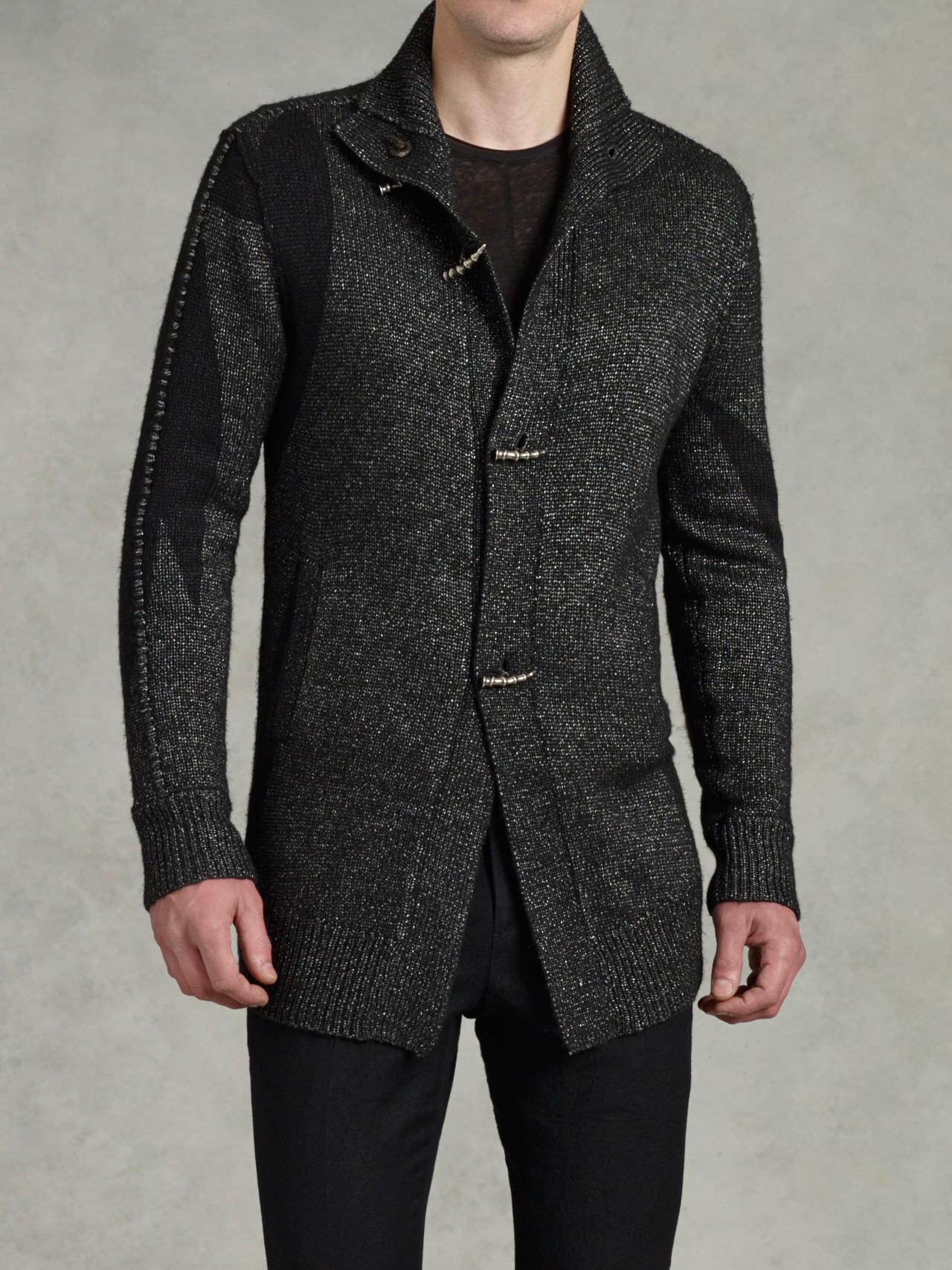 Metal Toggle Sweater Coat