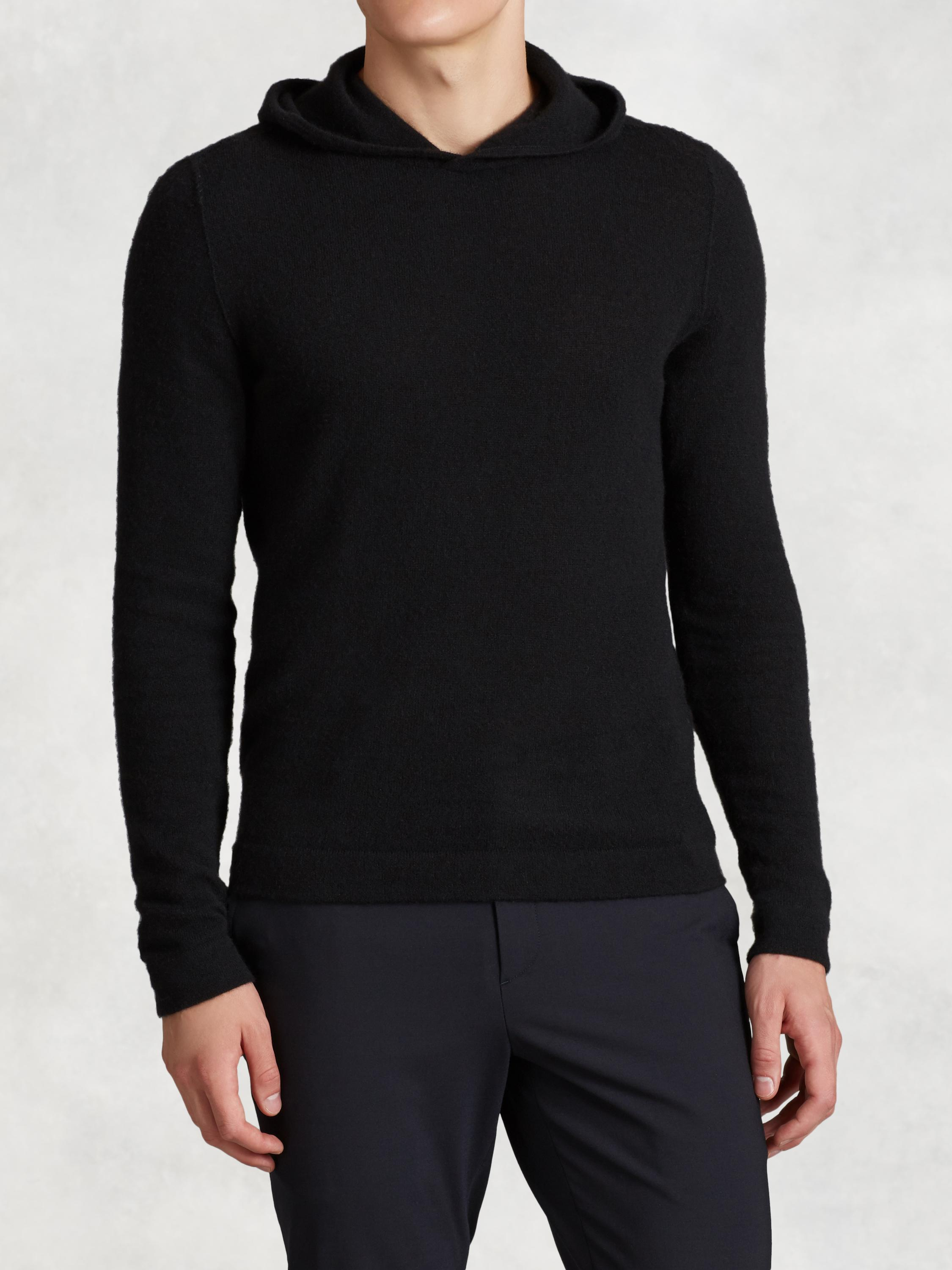 Wool Cashmere Hooded Sweater