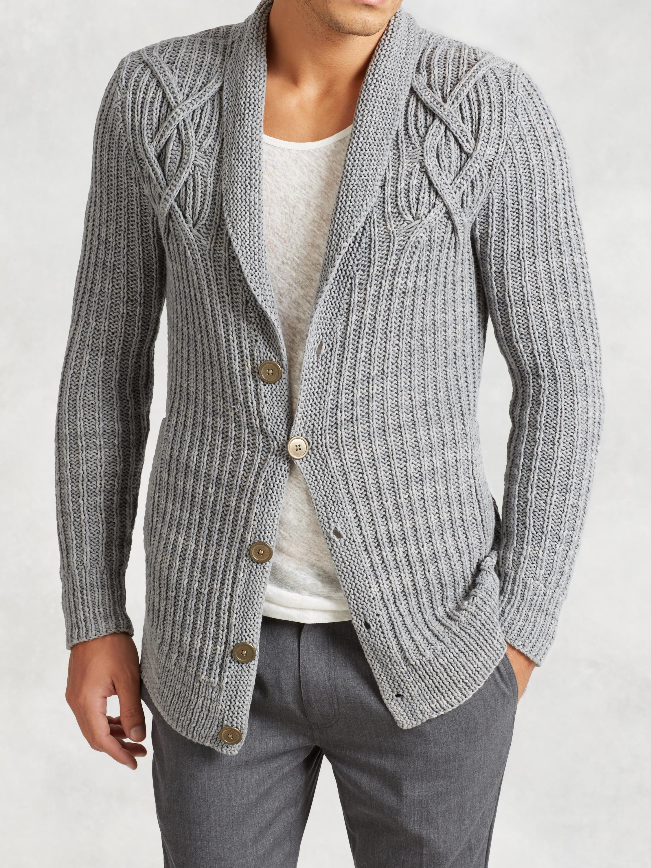 Artisan Cable Knit Cardigan