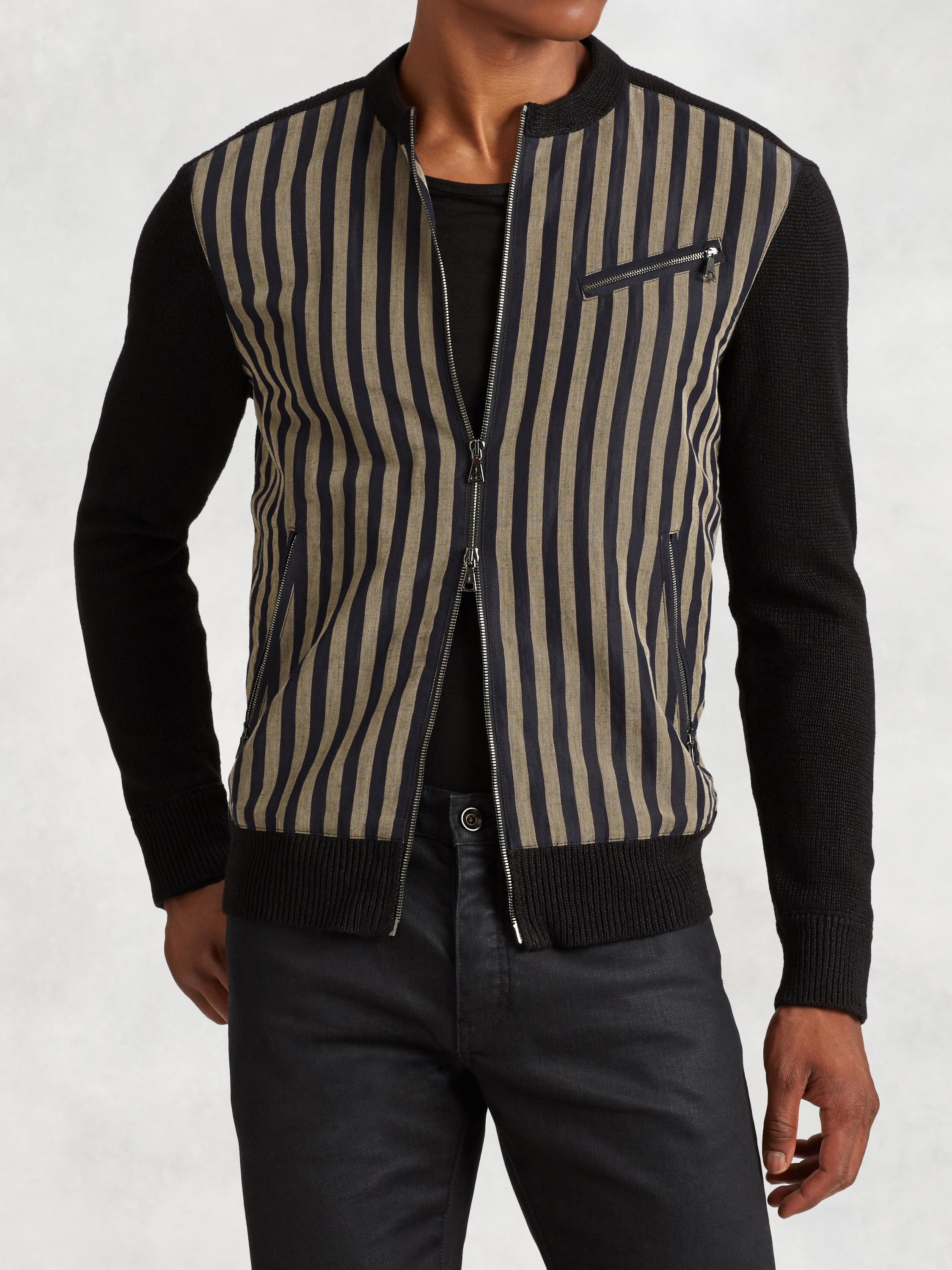 Linen Stripe Jacket