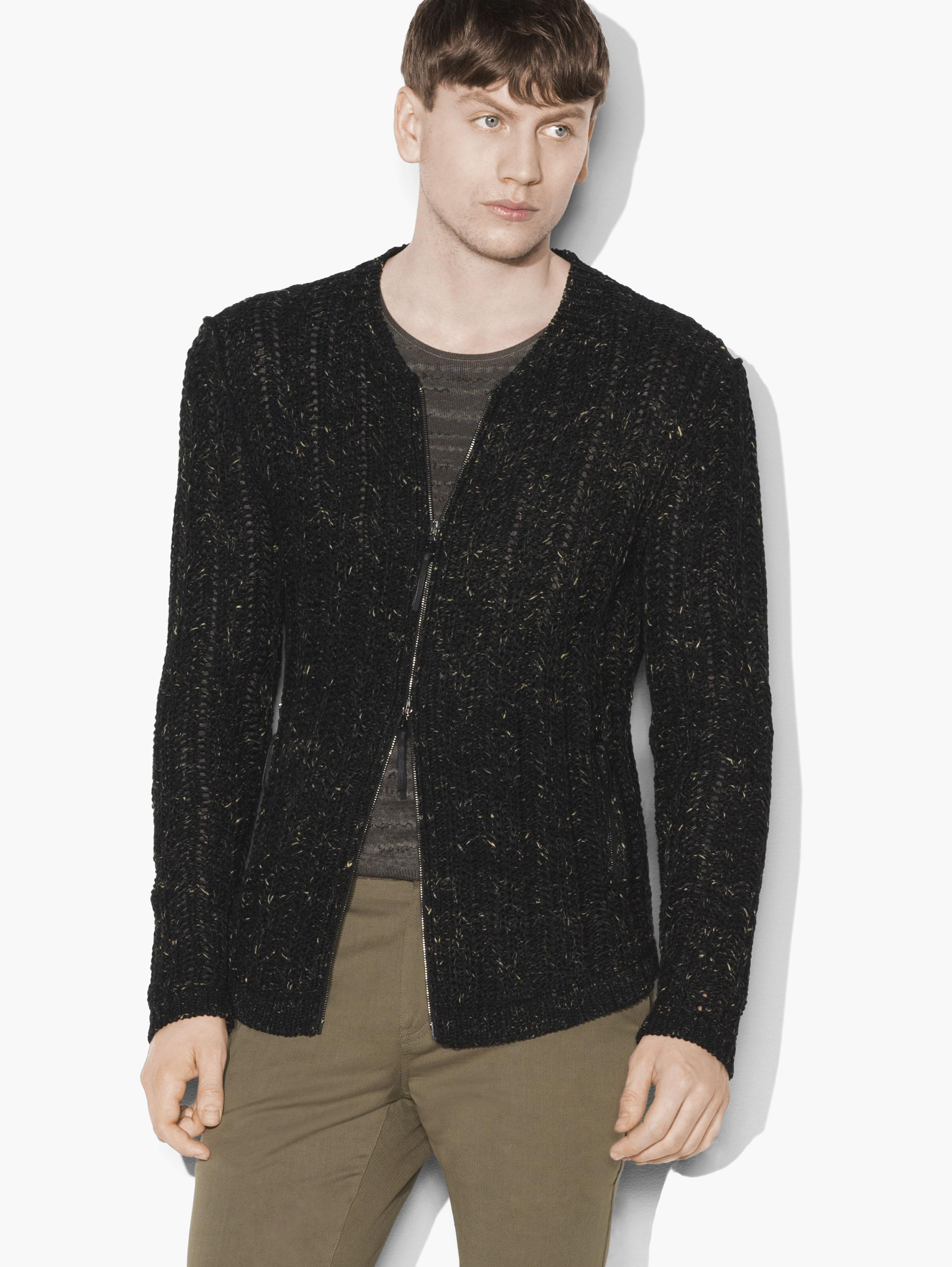 Artisan Cable Sweater Jacket