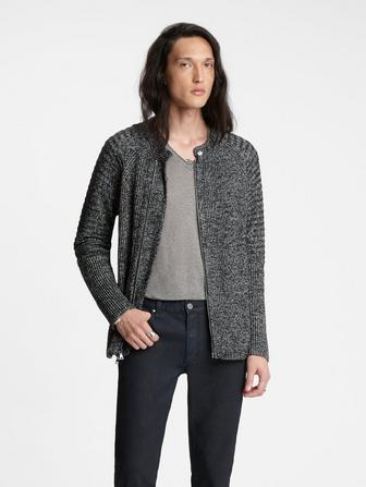 Biker Sweater Jacket
