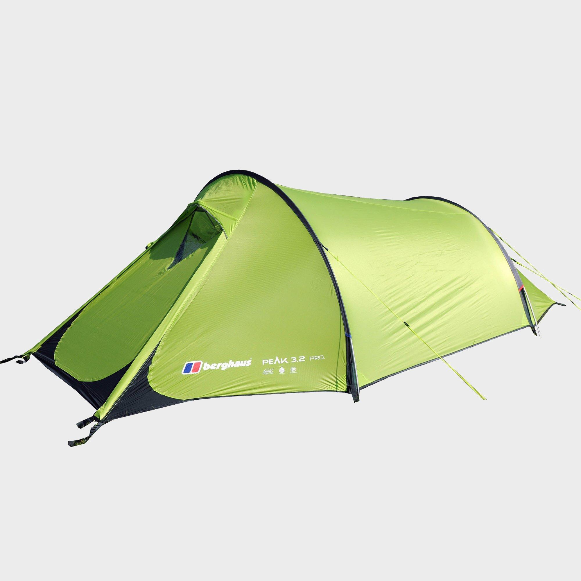 Berghaus Peak 3.2 Pro Tent  Green Green