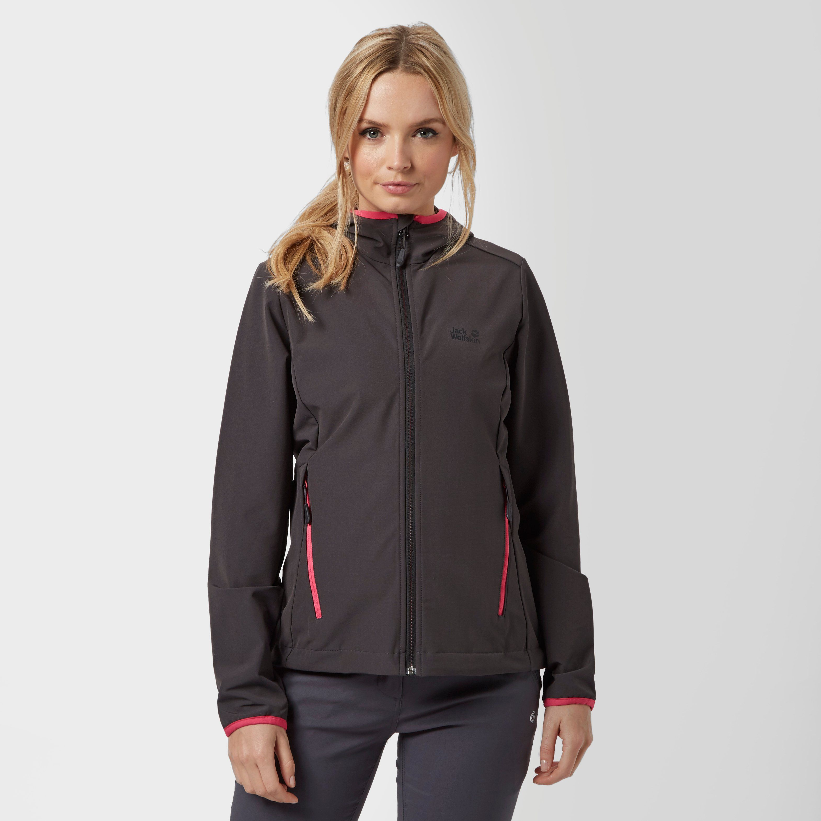 JACK WOLFSKIN Women's Turbulence Softshell Jacket
