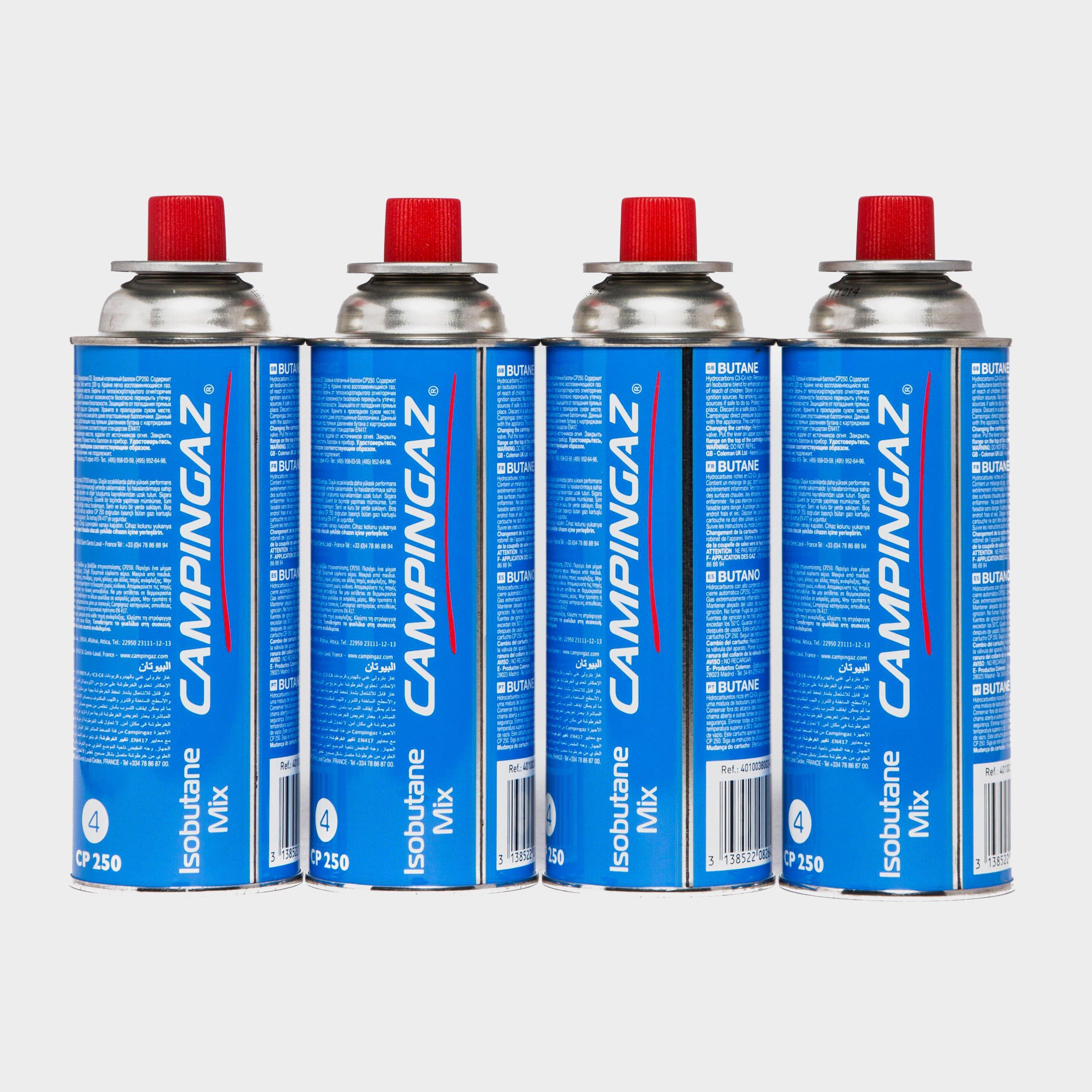 Campingaz CP250 Gas Cartridges 4-pack, Blue