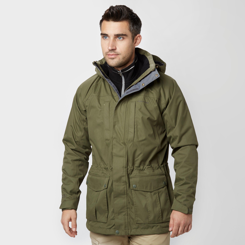 Craghoppers Men's Kiwi Long Jacket, Khaki