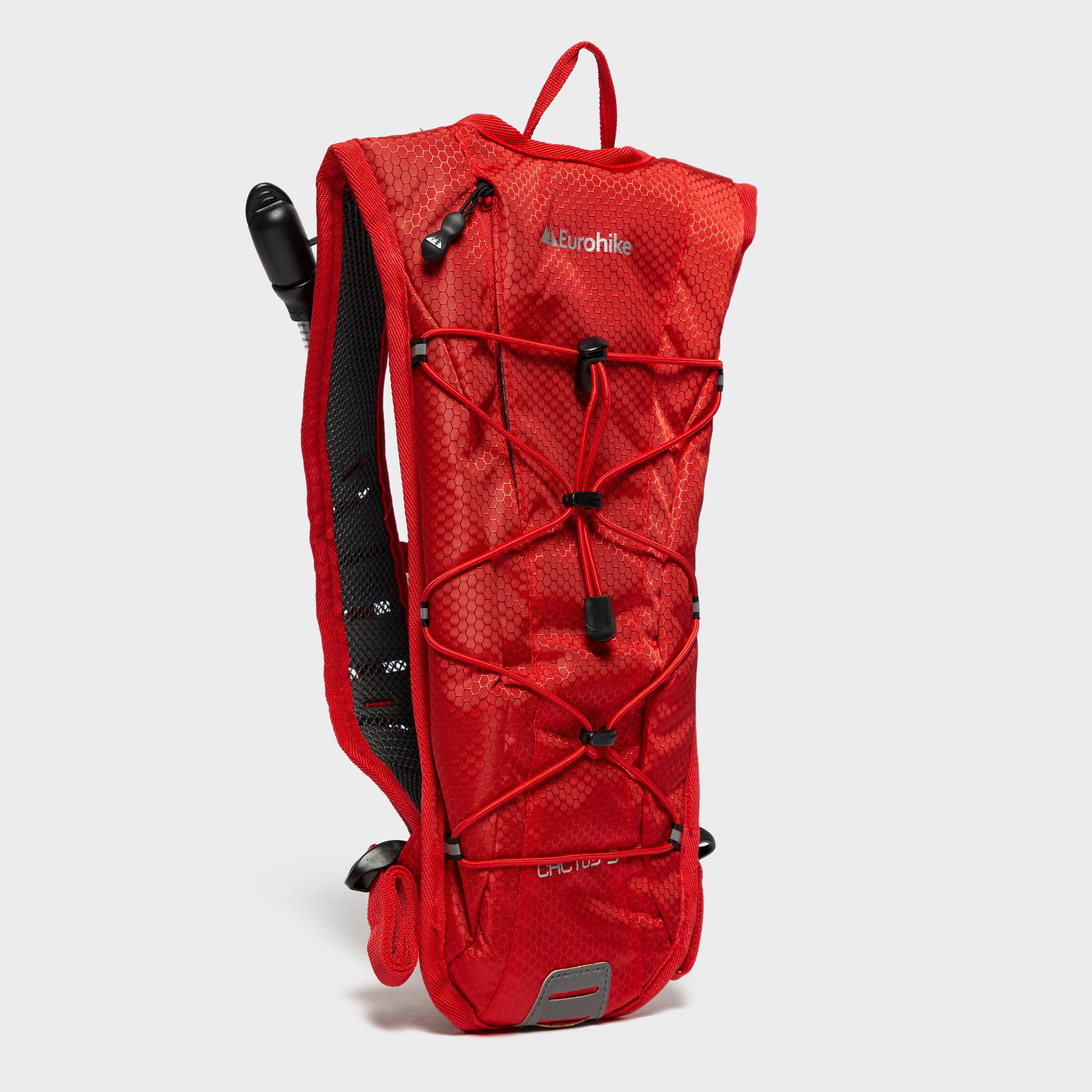 Eurohike Cactus 3L Hydration Pack, Red