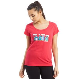 PETER STORM Women's Beach Huts T-Shirt