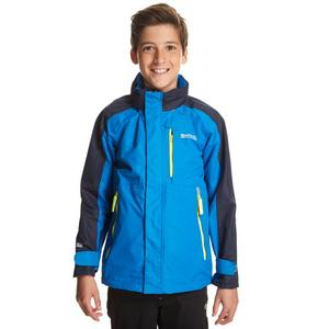 REGATTA Boys Fusilier Waterproof Jacket
