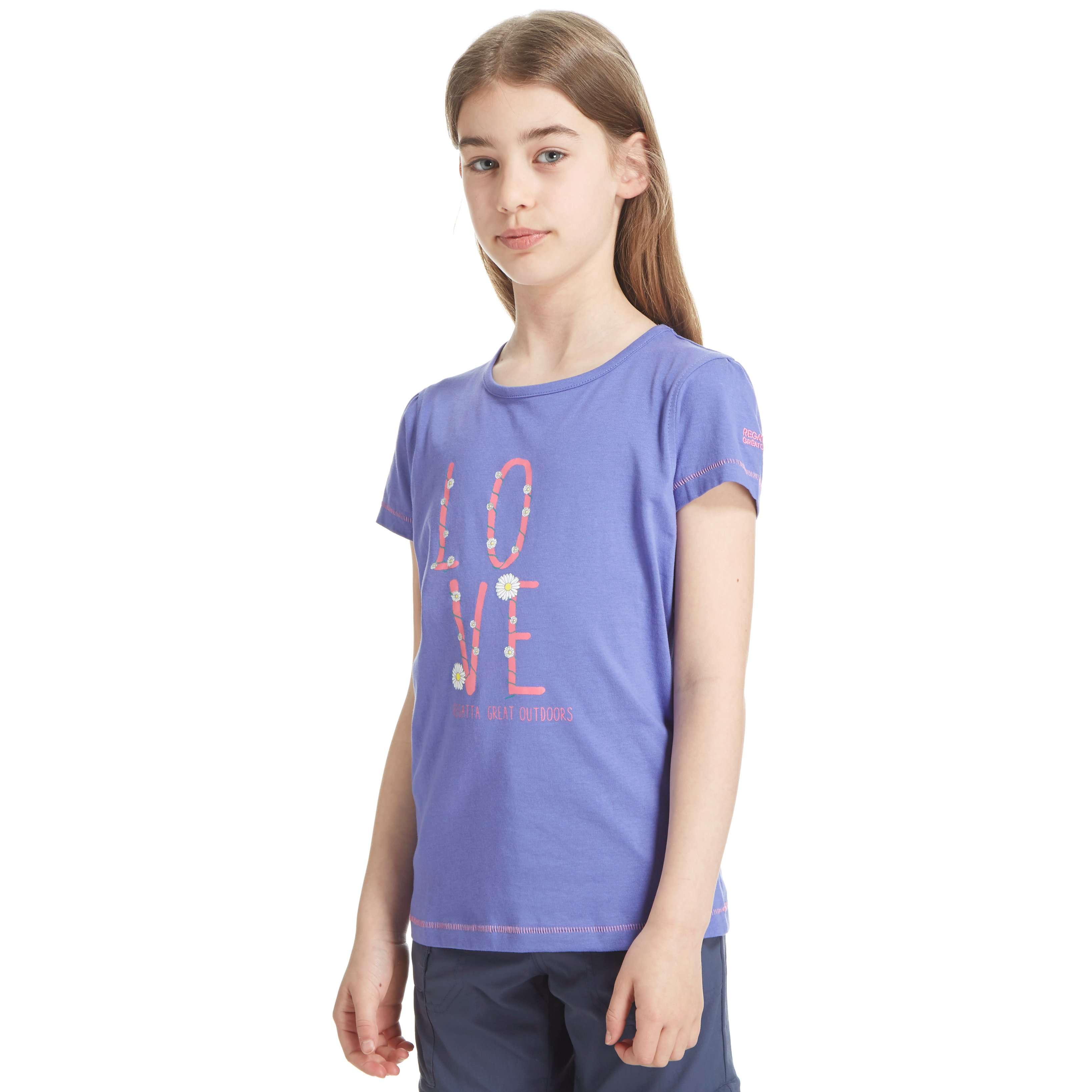 REGATTA Girl's Love Bobbles T-Shirt
