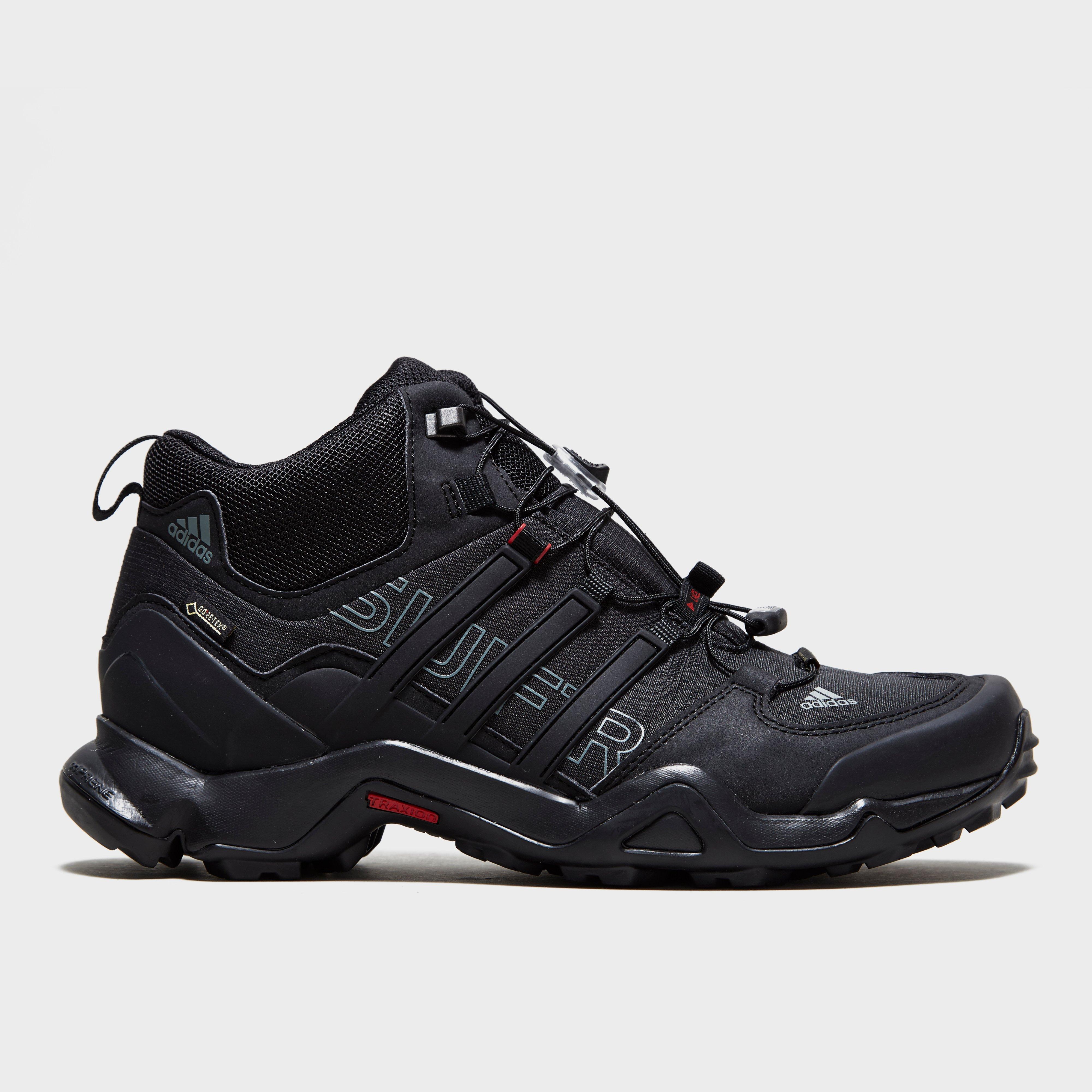 Adidas Mens Terrex Swift R GORETEX Mid Boot Black