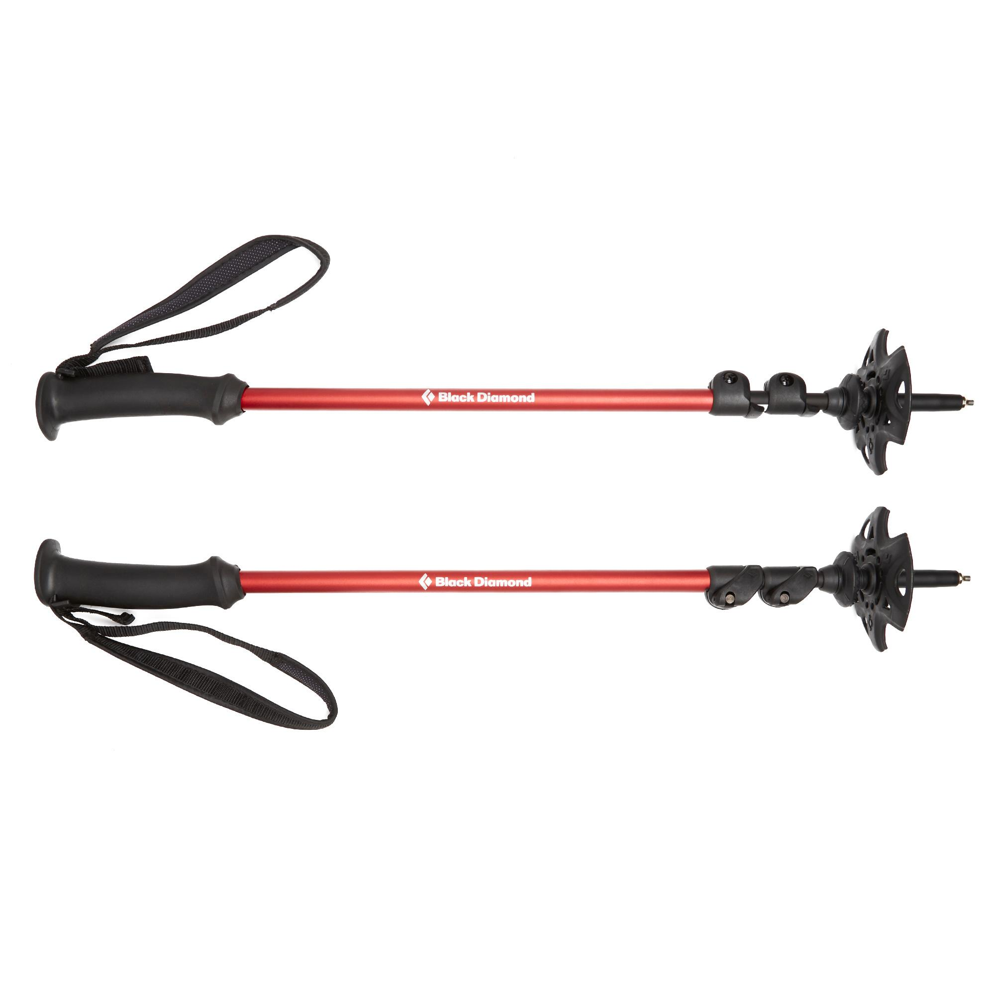 Black Diamond Trail Back Trekking Pole (Pair) Red