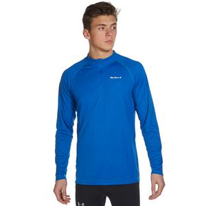 PETER STORM Men's Long Sleeve Zip Neck Tech Tee