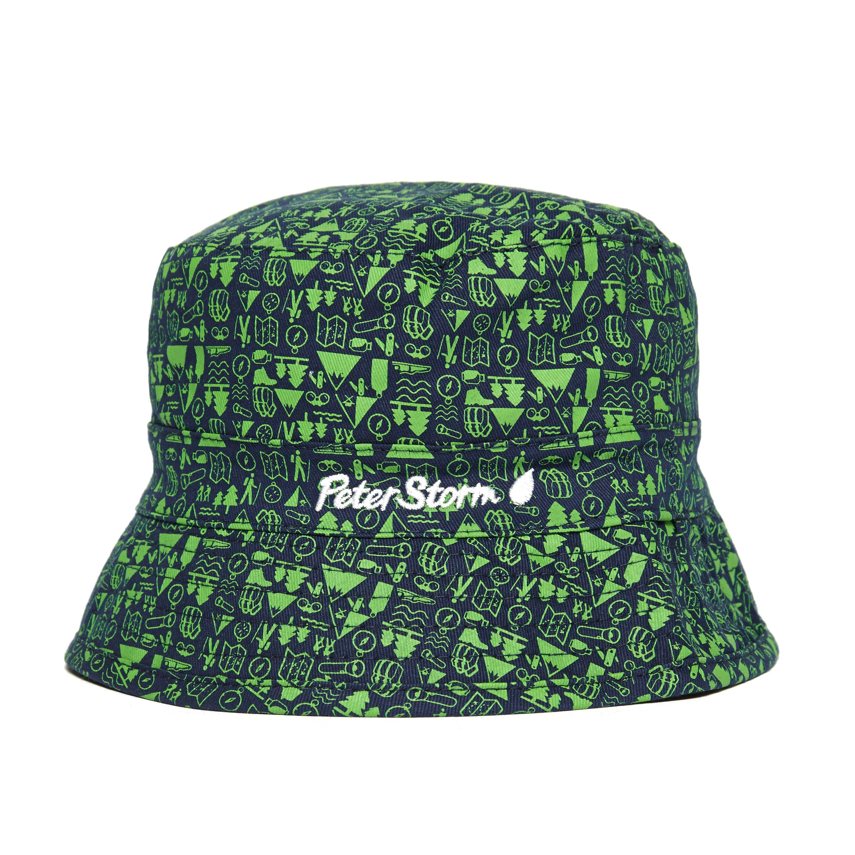 Photo of Peter storm kids camp reversible bucket hat - blue- blue