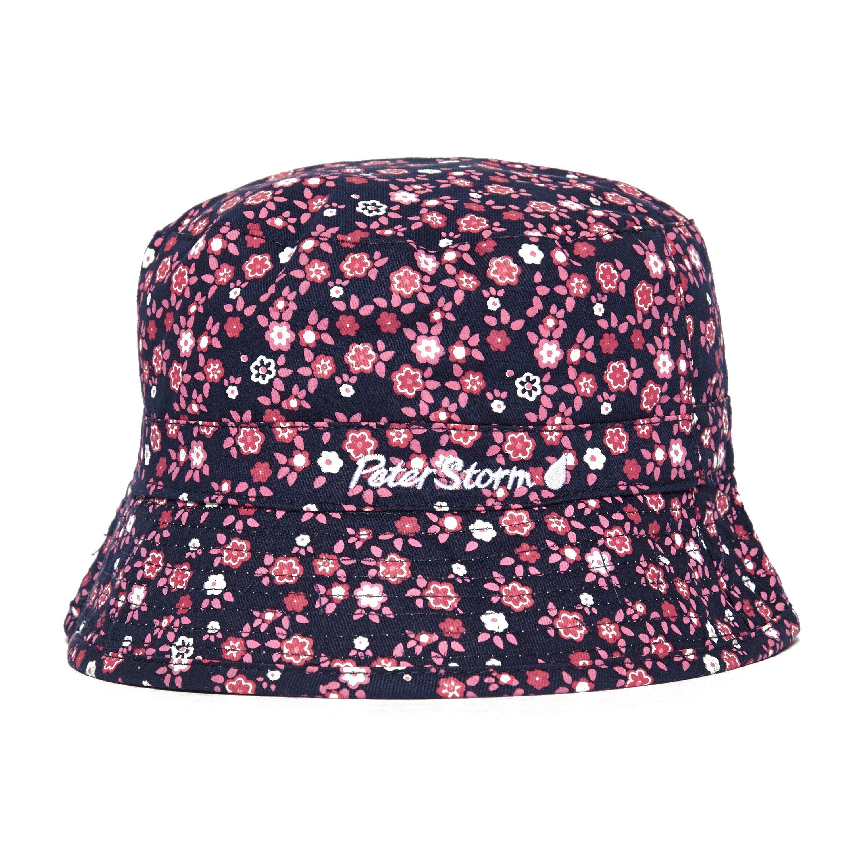 PETER STORM Kids Flower Reversible Bucket Hat