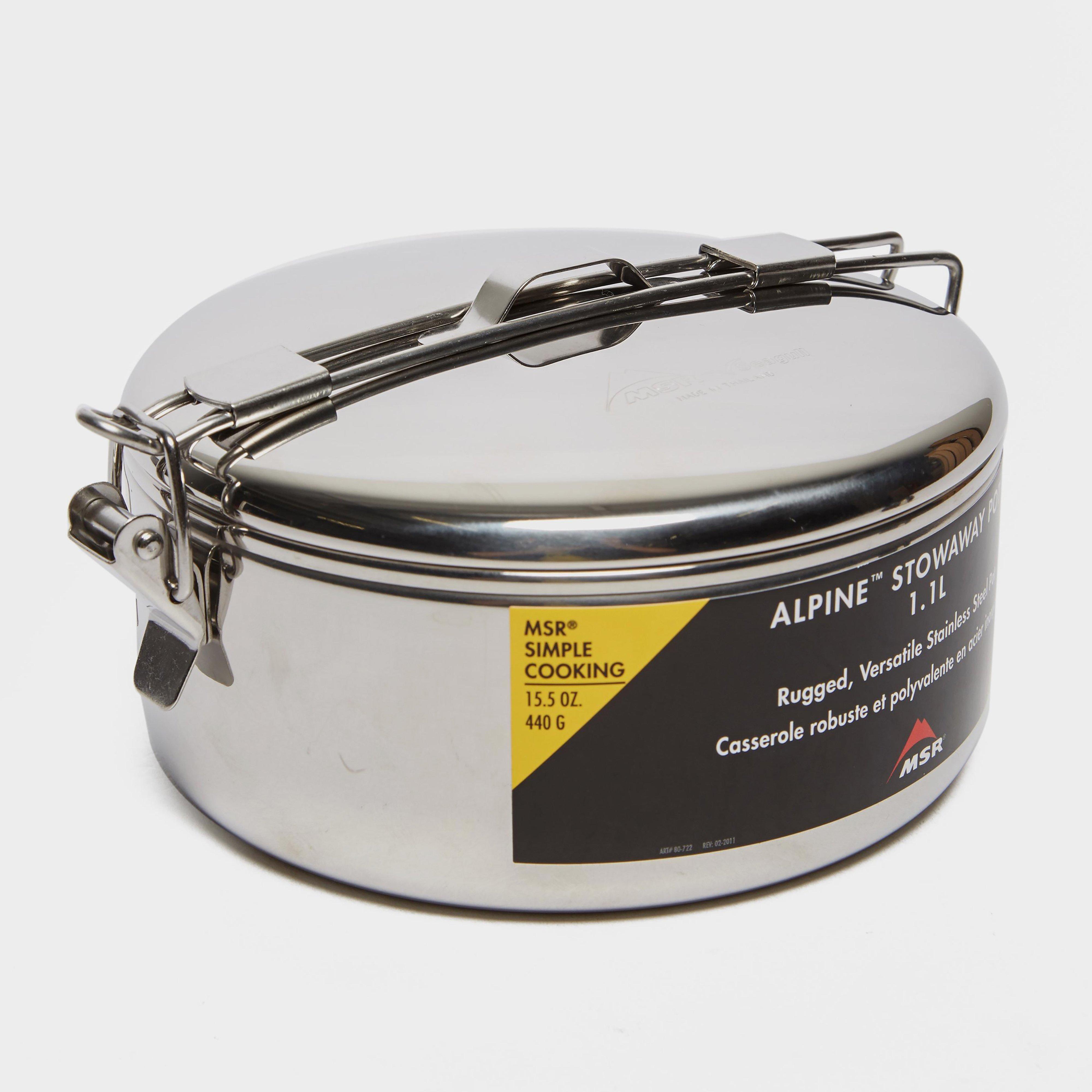 Msr Alpine Stowaway Pot - Silver/1.1l  Silver/1.1l