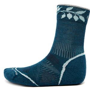 SMARTWOOL Women's PHD Outdoor Lightweight Patterned Crew Socks