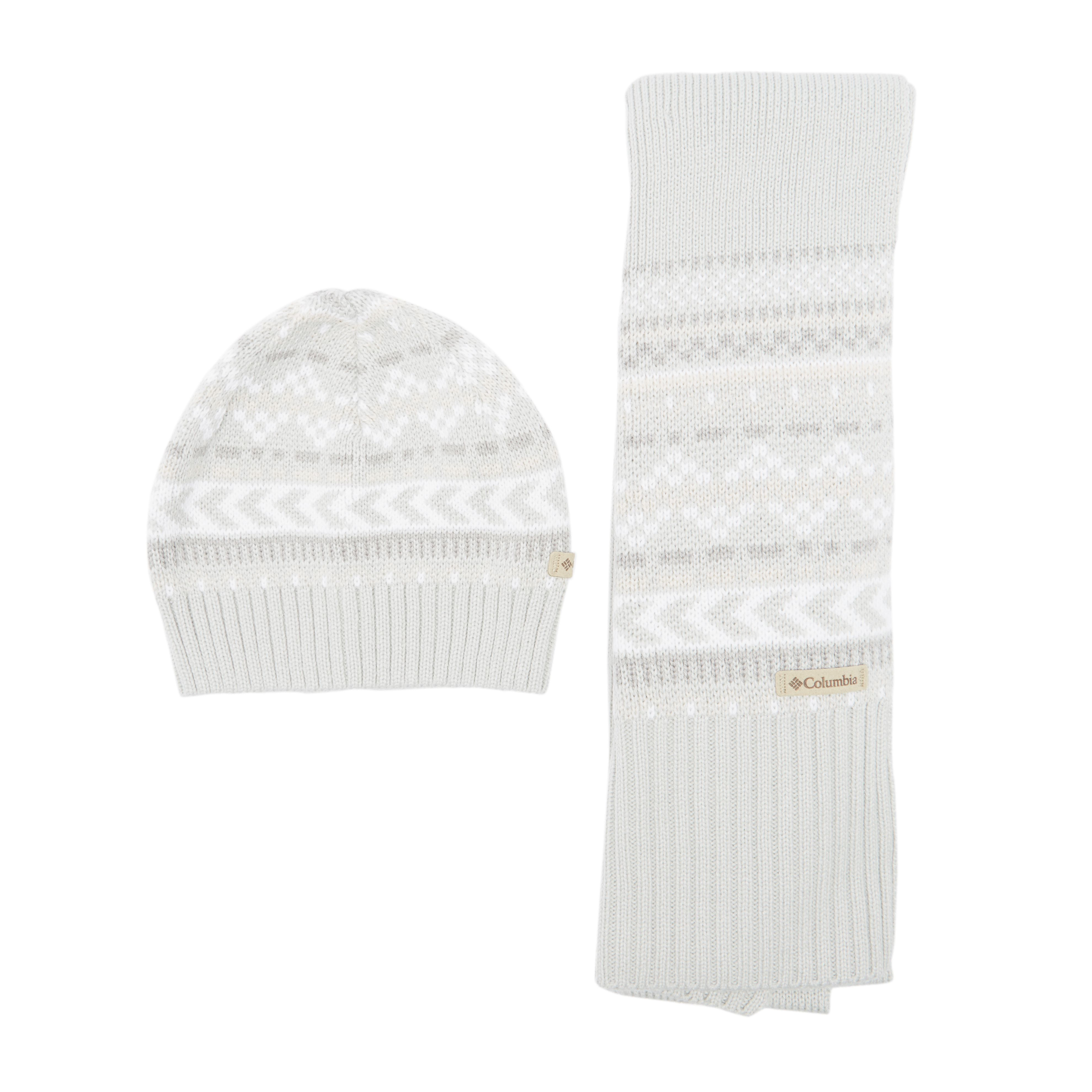 COLUMBIA Women's Hat and Scarf Set