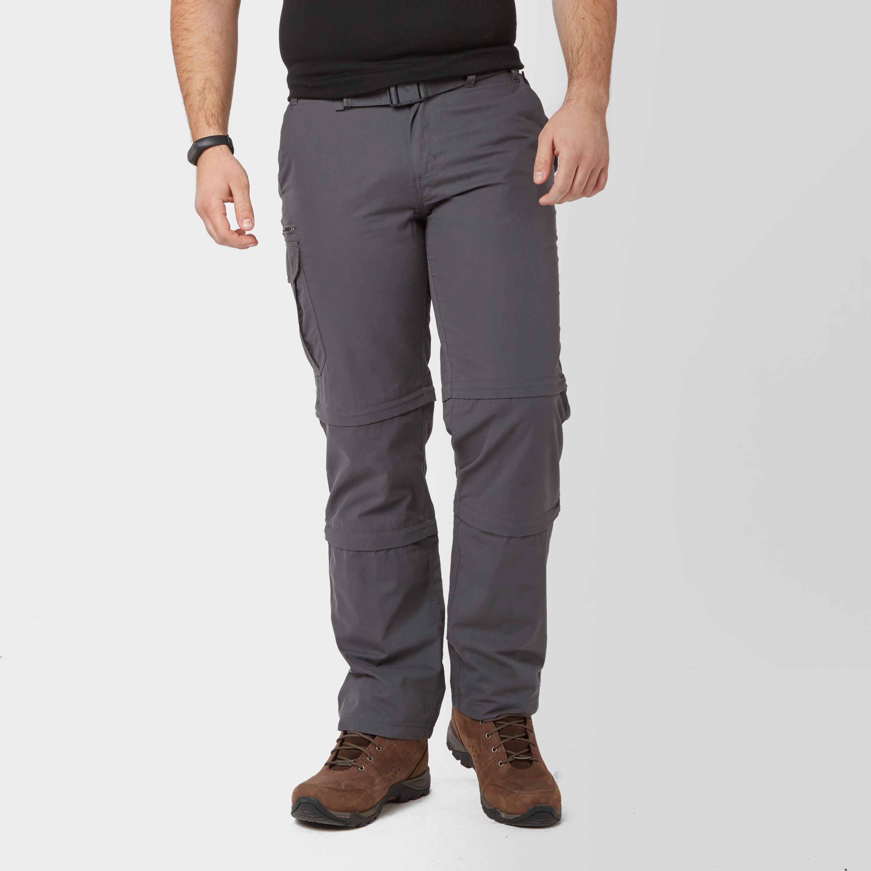 Brasher Mens Double Zip-off Trousers - Grey/gry  Grey/gry
