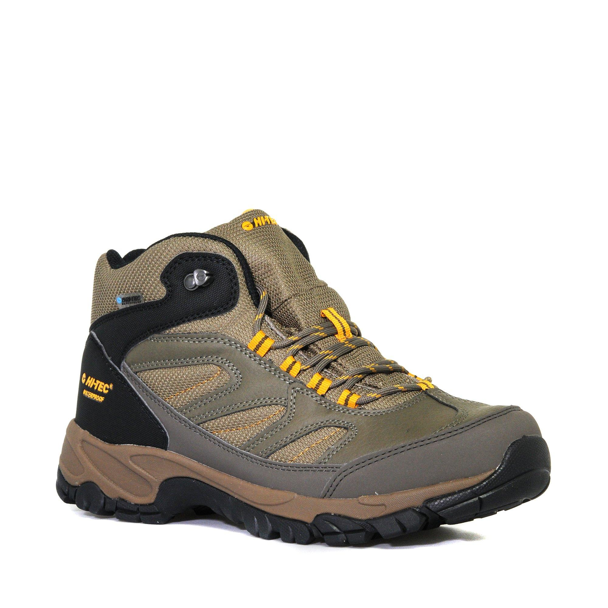 Hi Tec Mens Moreno Waterproof Mid Walking Boot Brown