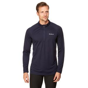 PETER STORM Men's Tech Long Sleeve Zip T-Shirt