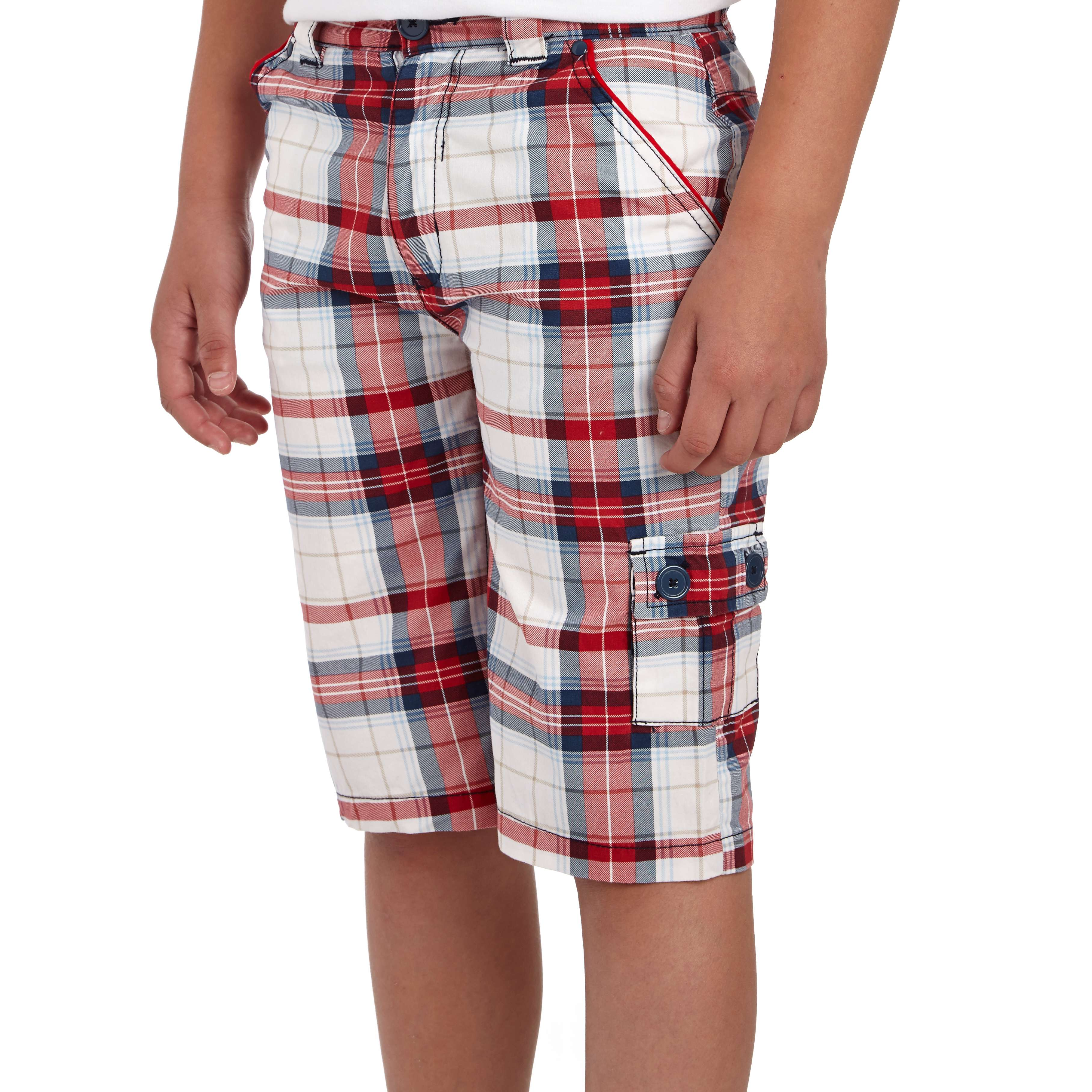 PETER STORM Boys' Checked Shorts
