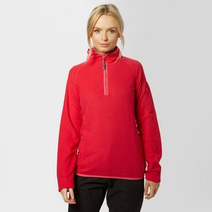 PETER STORM Women's Grid Half Zip Fleece